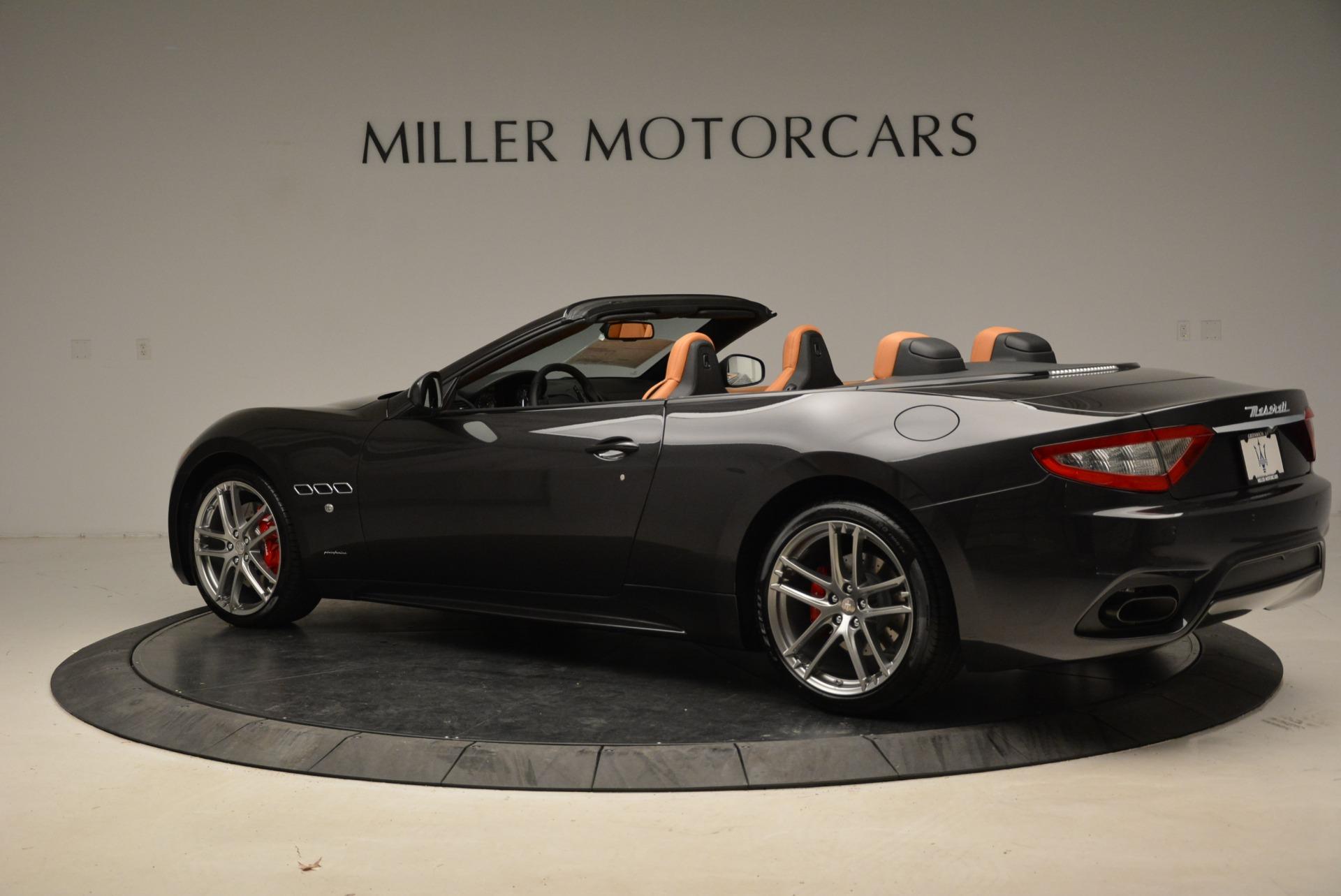 New 2018 Maserati GranTurismo Sport Convertible For Sale In Westport, CT 1942_p16
