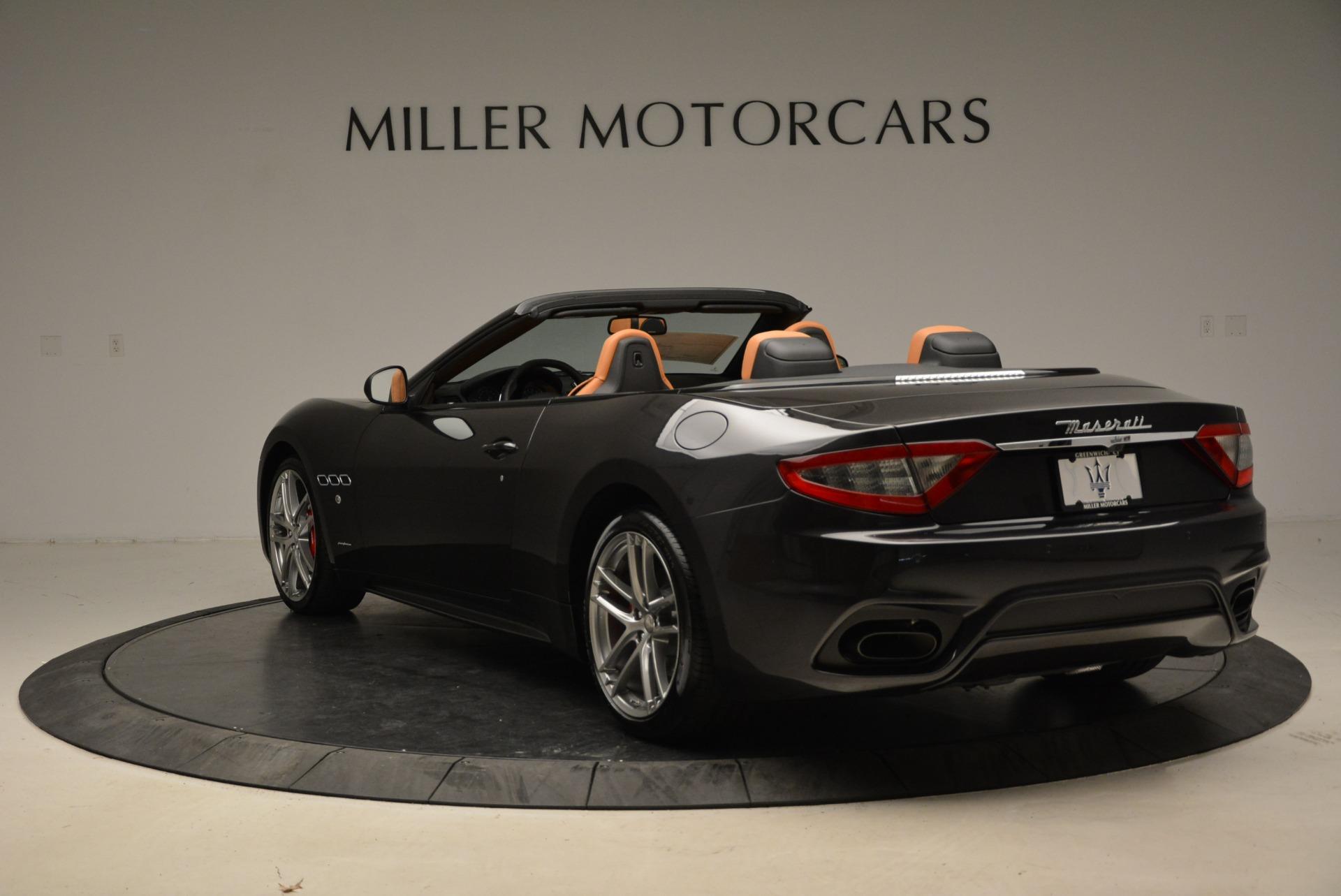 New 2018 Maserati GranTurismo Sport Convertible For Sale In Westport, CT 1942_p17