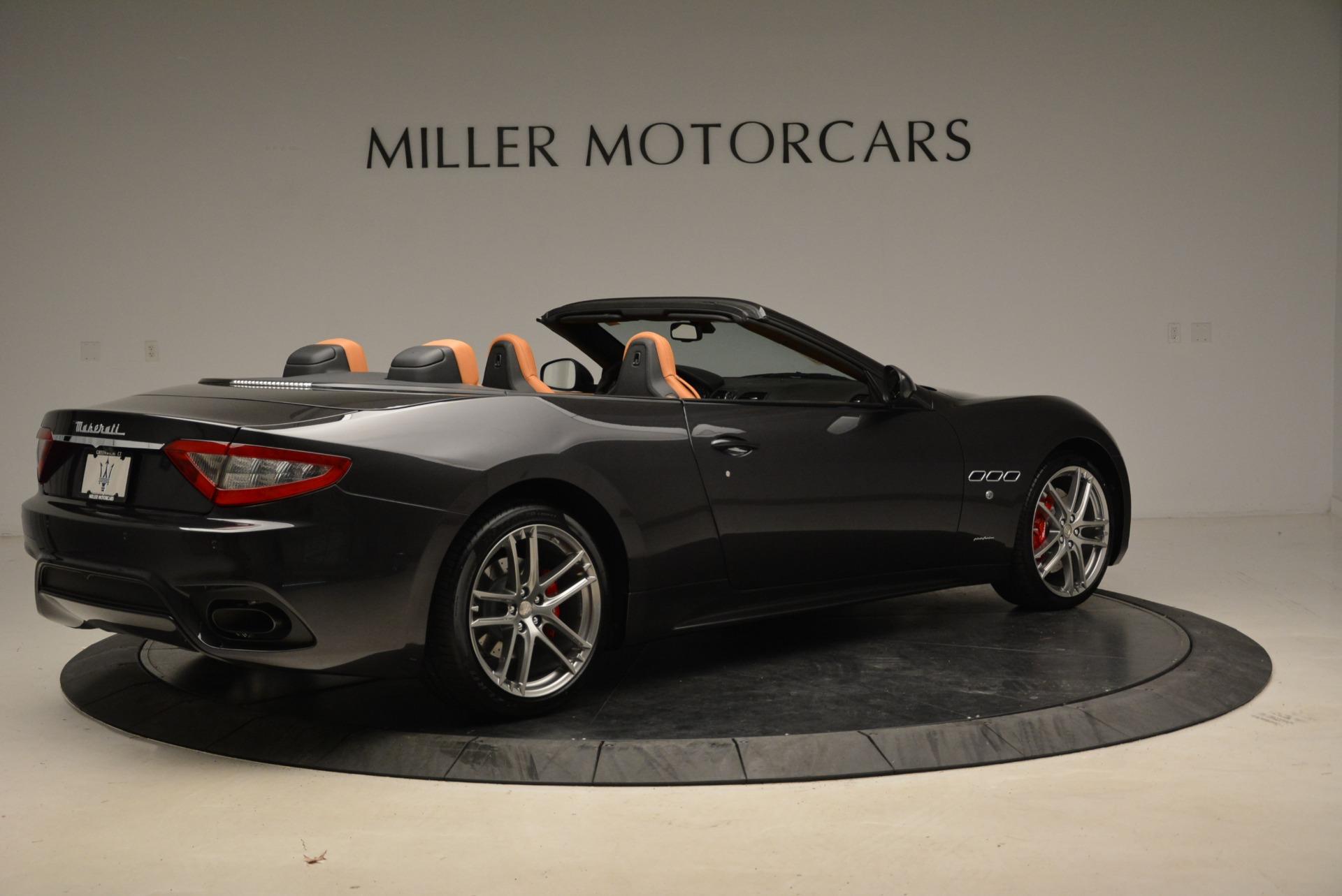 New 2018 Maserati GranTurismo Sport Convertible For Sale In Westport, CT 1942_p20