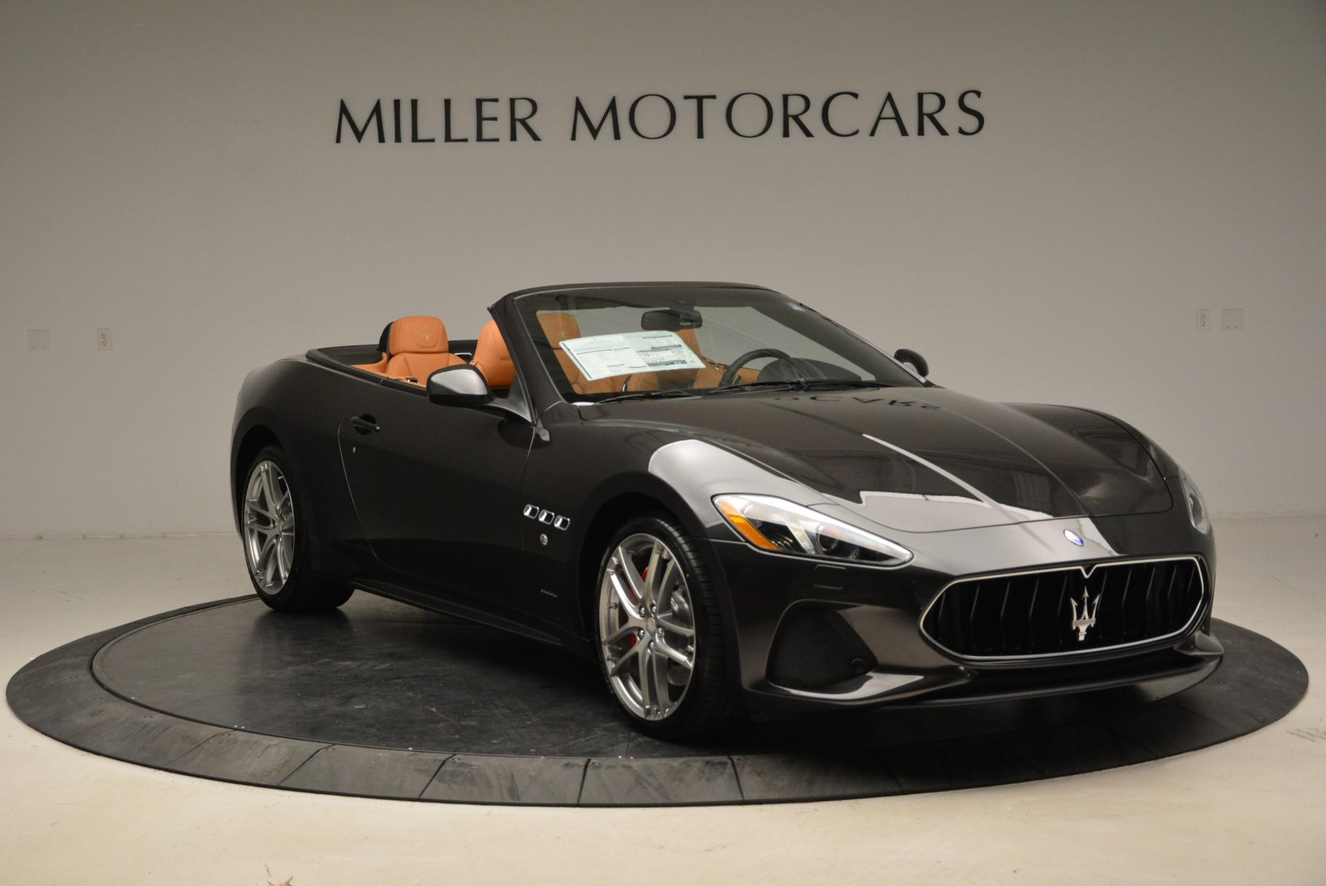 New 2018 Maserati GranTurismo Sport Convertible For Sale In Westport, CT 1942_p23