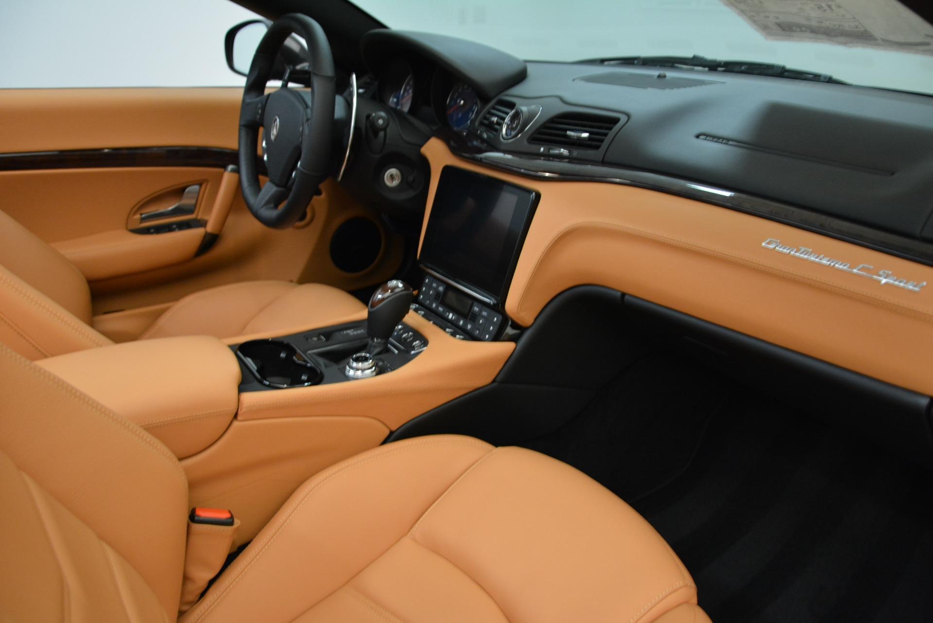 New 2018 Maserati GranTurismo Sport Convertible For Sale In Westport, CT 1942_p27