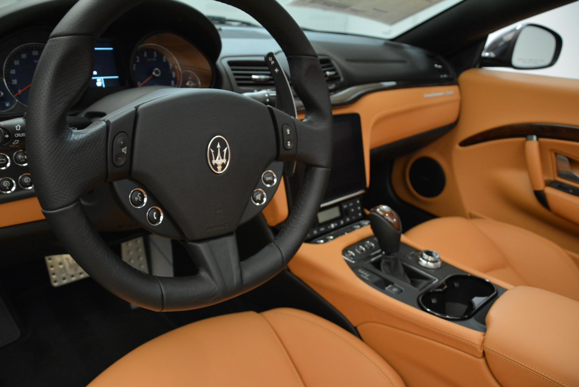 New 2018 Maserati GranTurismo Sport Convertible For Sale In Westport, CT 1942_p29