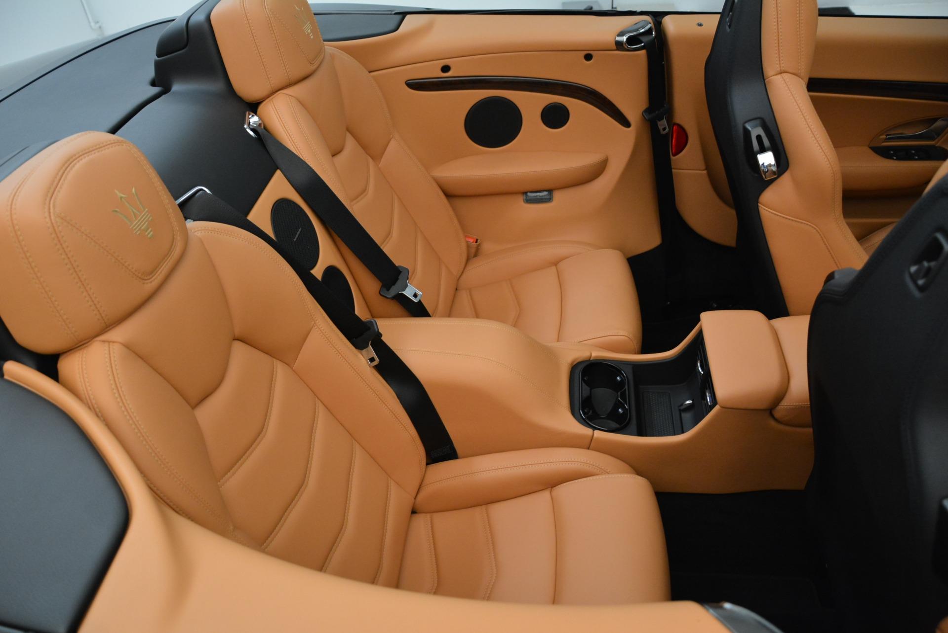 New 2018 Maserati GranTurismo Sport Convertible For Sale In Westport, CT 1942_p36