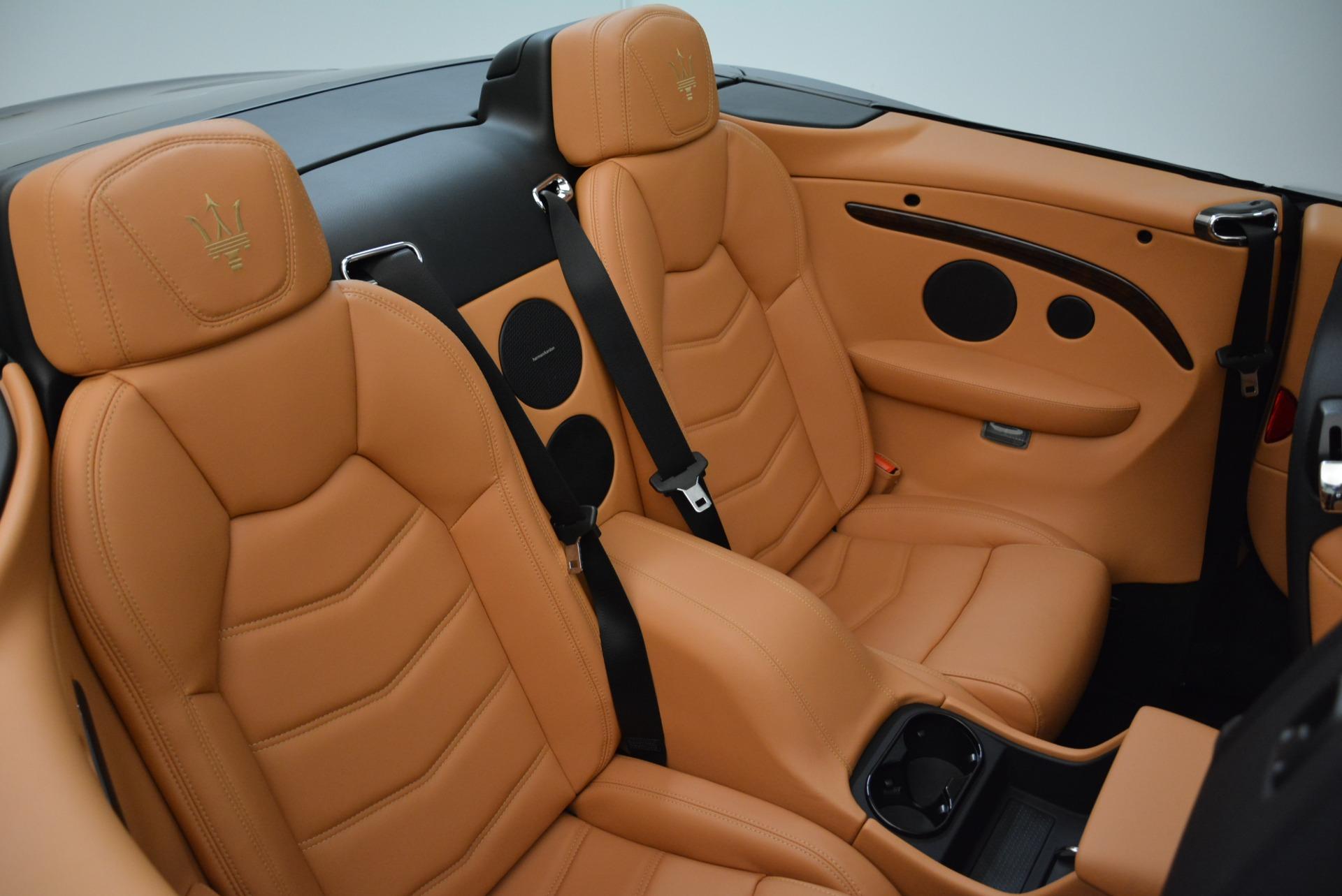 New 2018 Maserati GranTurismo Sport Convertible For Sale In Westport, CT 1942_p37