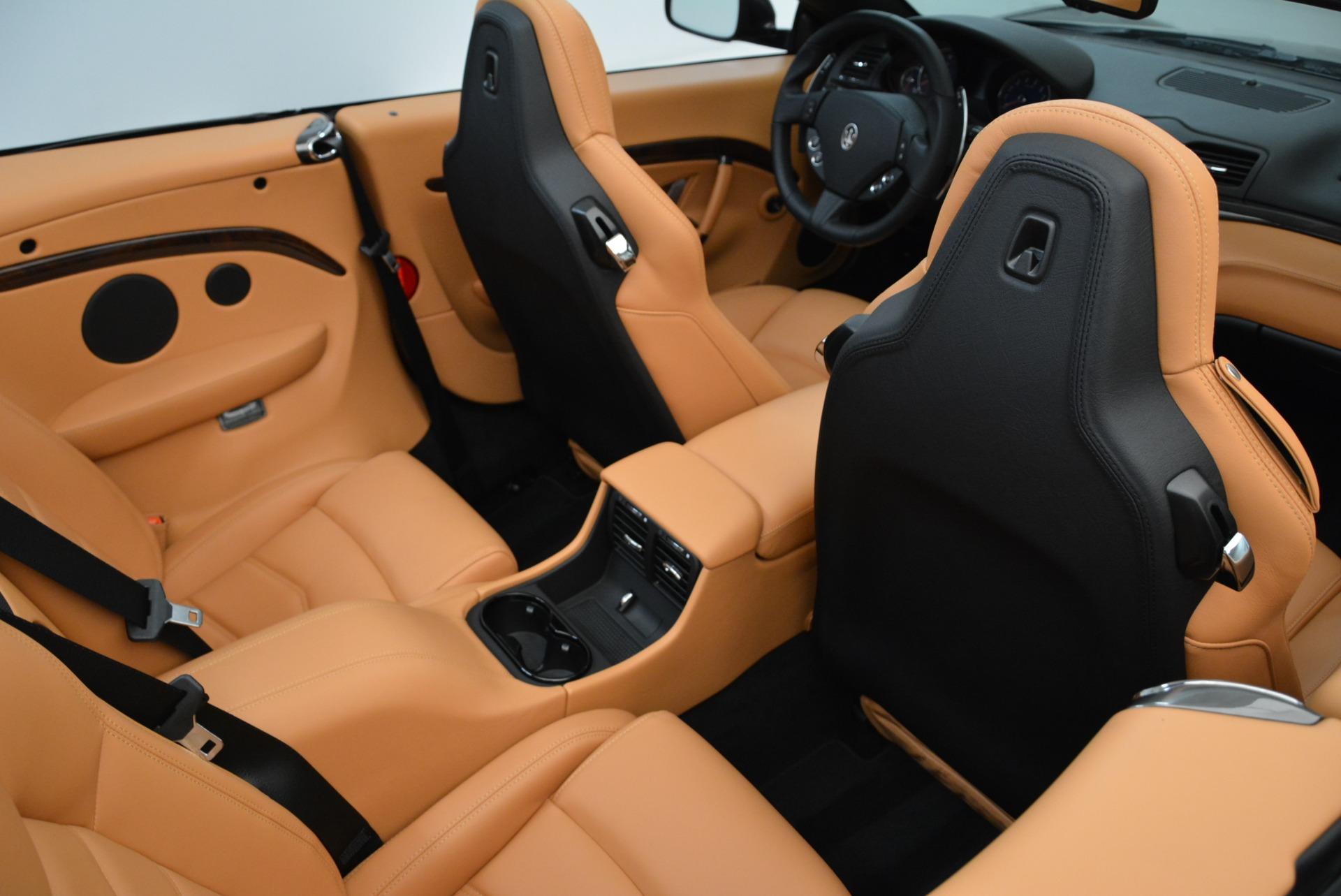New 2018 Maserati GranTurismo Sport Convertible For Sale In Westport, CT 1942_p38