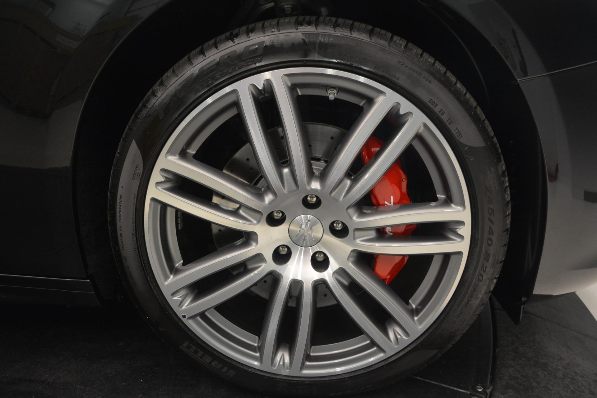 New 2018 Maserati Ghibli S Q4 Gransport For Sale In Westport, CT 1950_p25