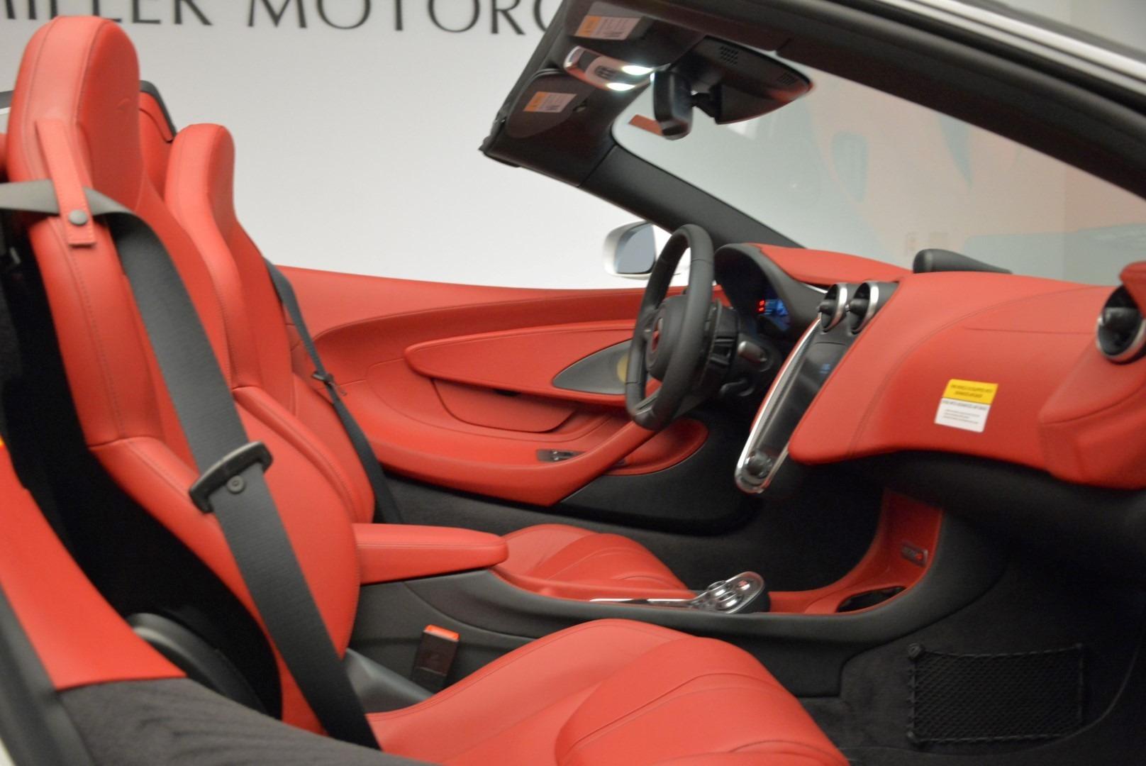 New 2018 McLaren 570S Spider For Sale In Westport, CT 1969_p30