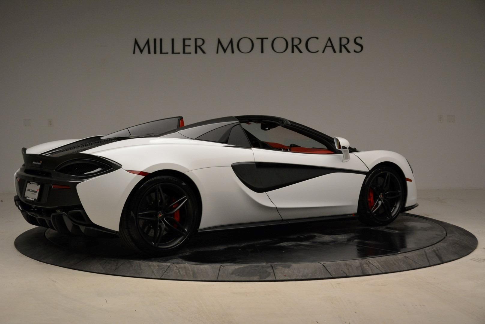 New 2018 McLaren 570S Spider For Sale In Westport, CT 1969_p8