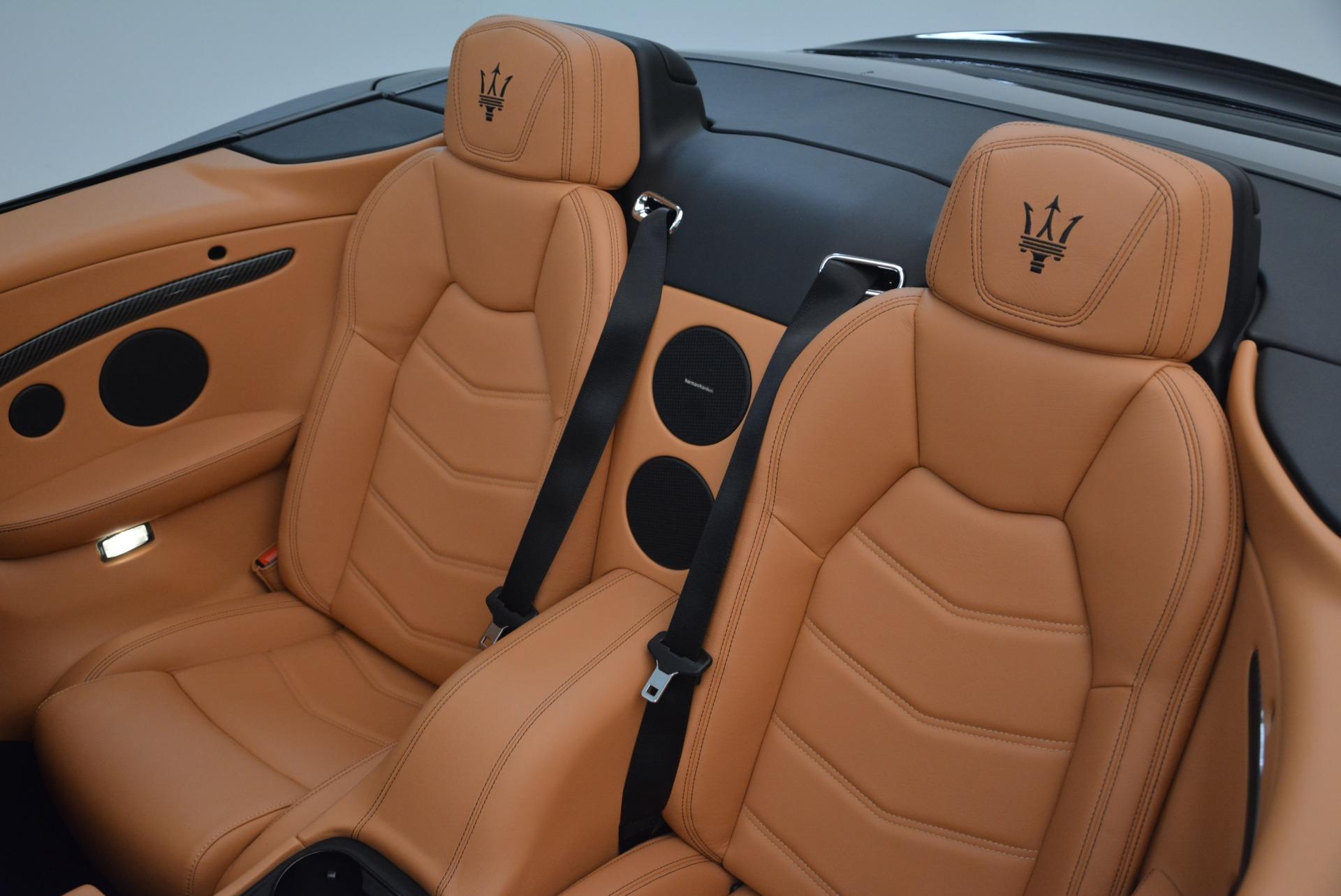 New 2018 Maserati GranTurismo MC Convertible For Sale In Westport, CT 1973_p29