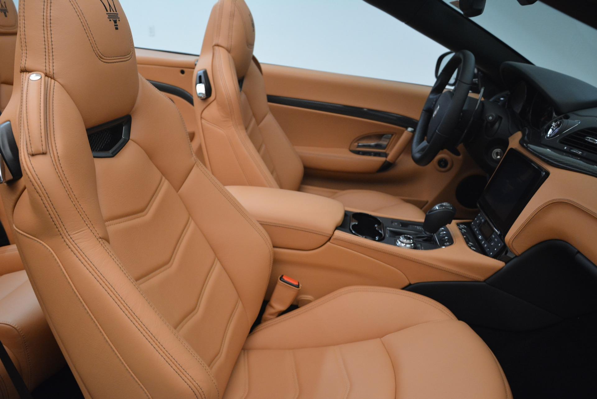 New 2018 Maserati GranTurismo MC Convertible For Sale In Westport, CT 1973_p33