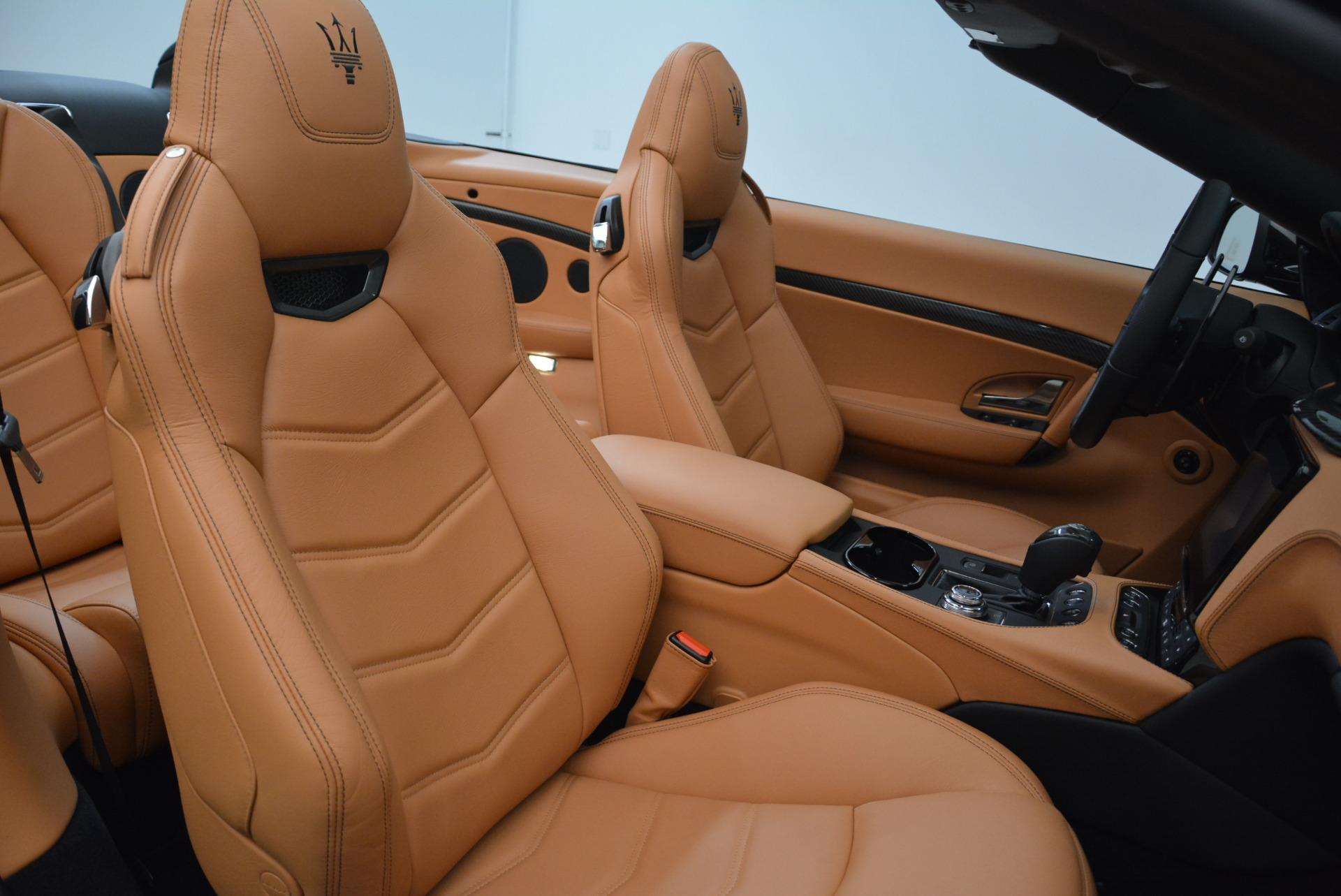 New 2018 Maserati GranTurismo MC Convertible For Sale In Westport, CT 1973_p34