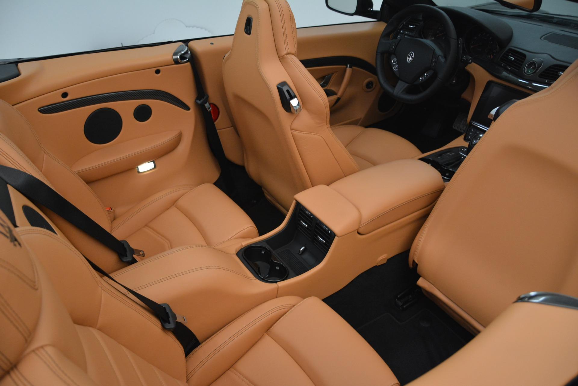 New 2018 Maserati GranTurismo MC Convertible For Sale In Westport, CT 1973_p36