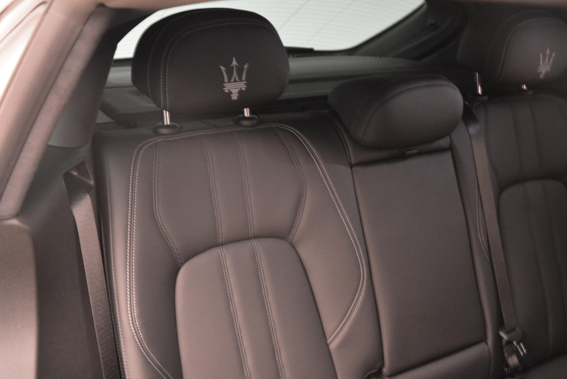 New 2018 Maserati Levante Q4 GranSport For Sale In Westport, CT 1975_p23