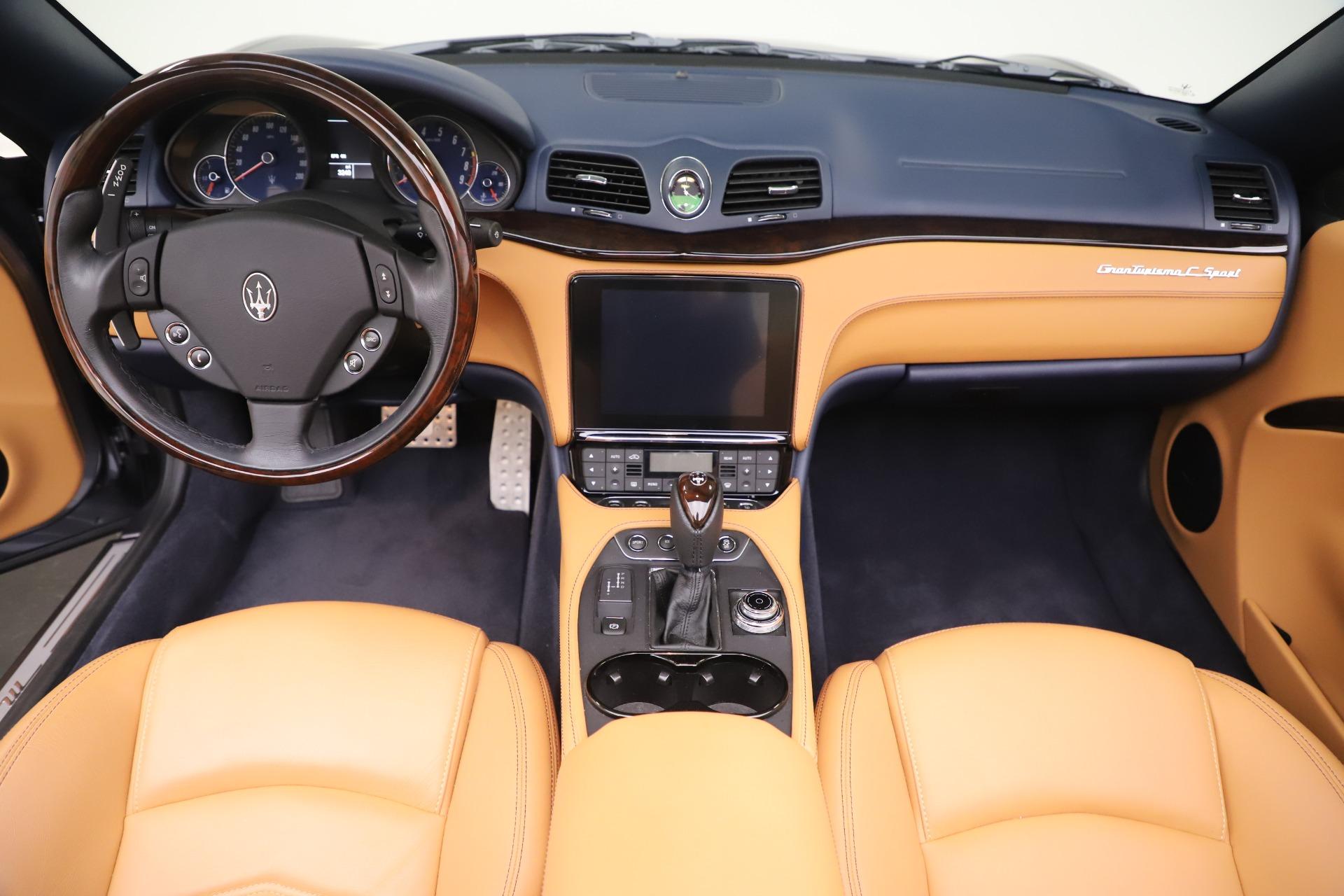 Used 2018 Maserati GranTurismo Sport Convertible For Sale In Westport, CT 1977_p22