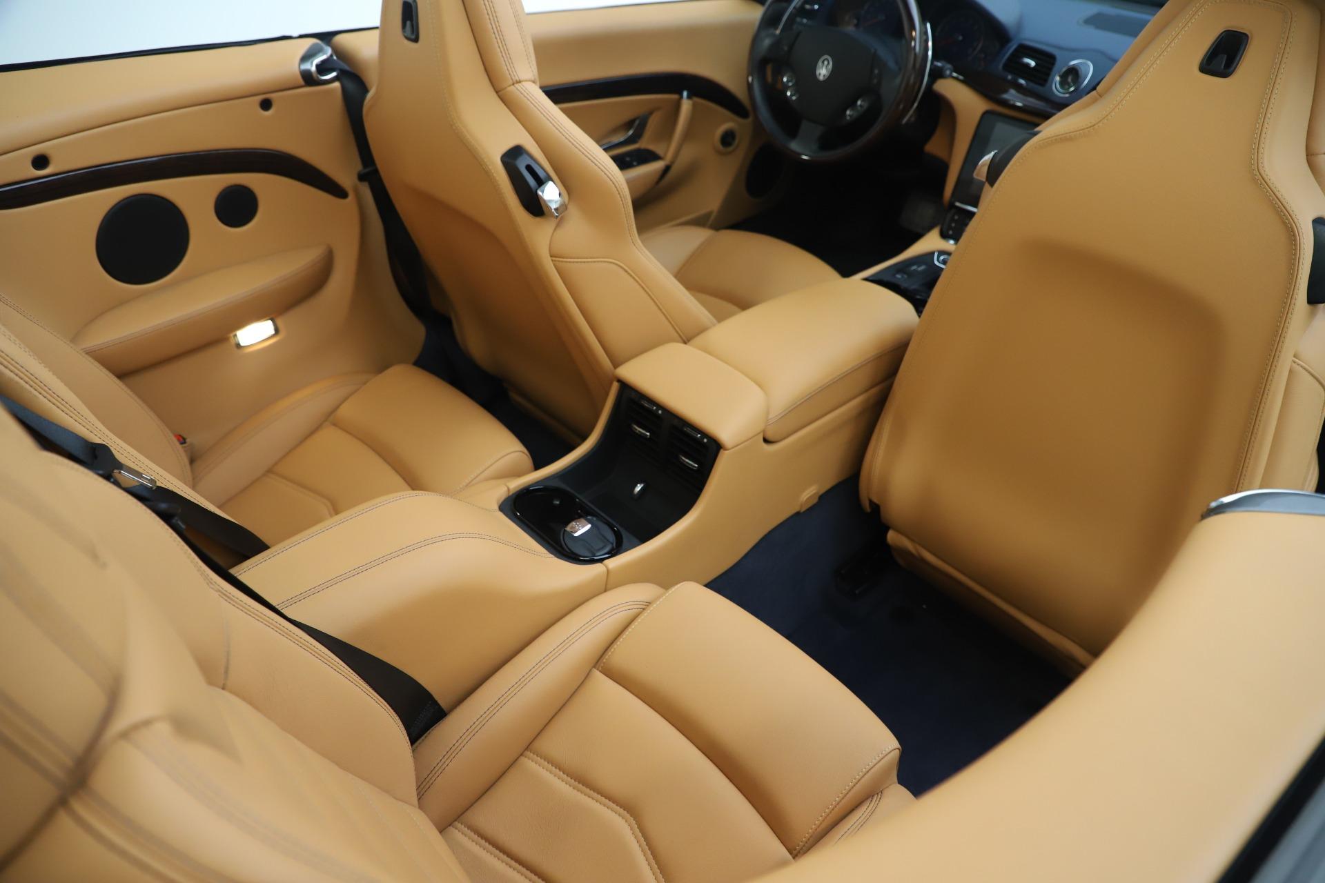 Used 2018 Maserati GranTurismo Sport Convertible For Sale In Westport, CT 1977_p31