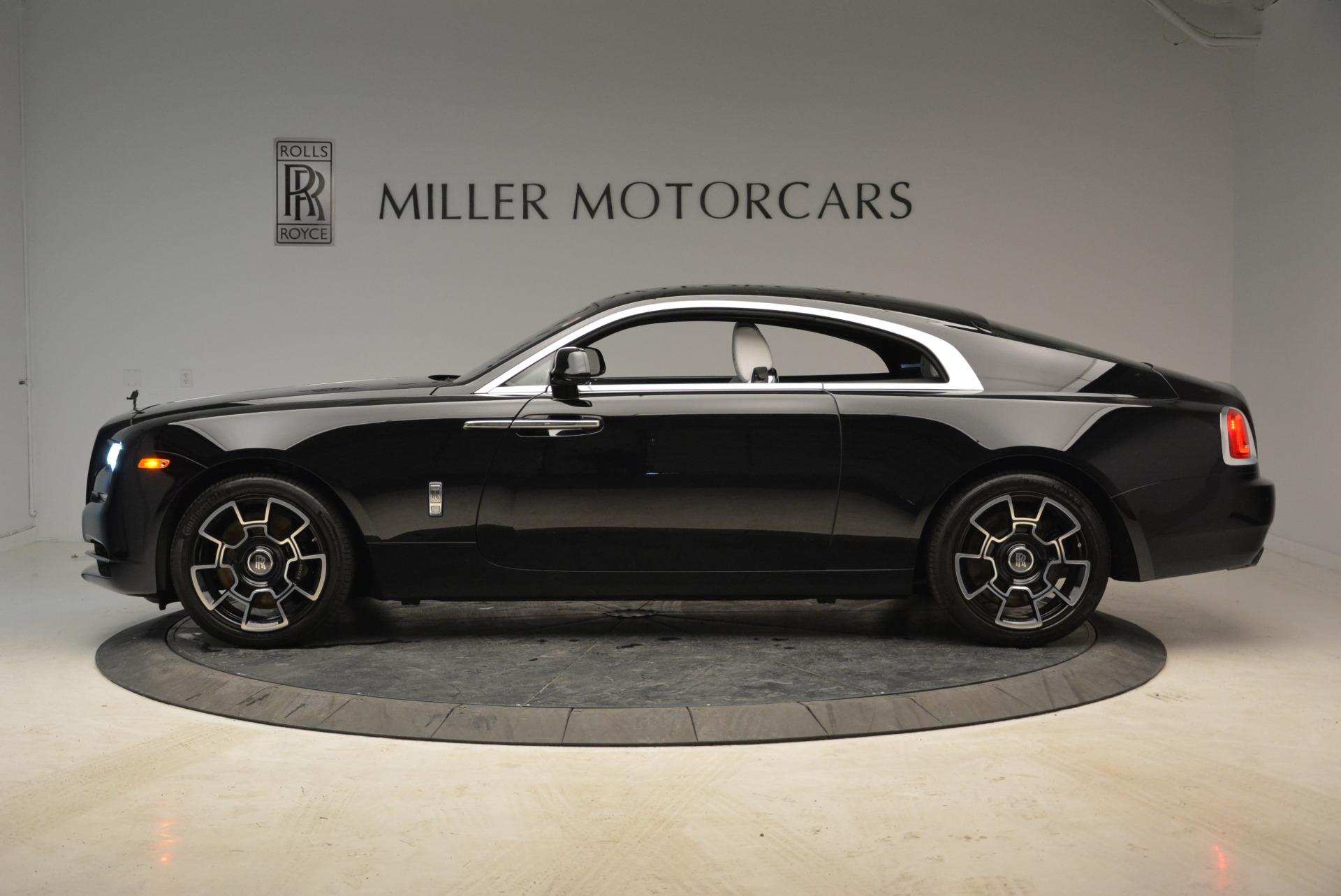 Used 2017 Rolls-Royce Wraith Black Badge For Sale In Westport, CT 1994_p3