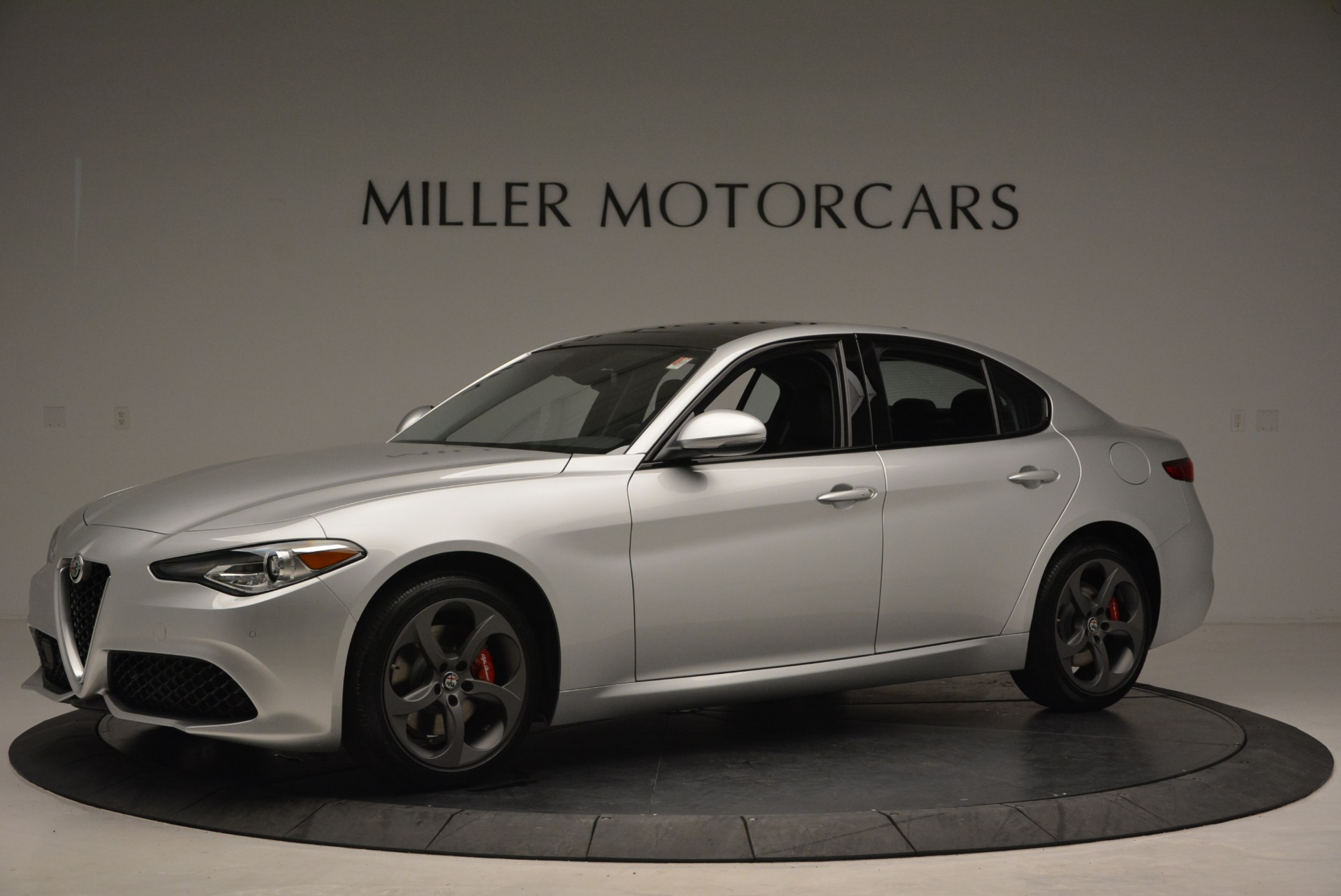 New 2018 Alfa Romeo Giulia Ti Sport Q4 For Sale In Westport, CT 2003_p2