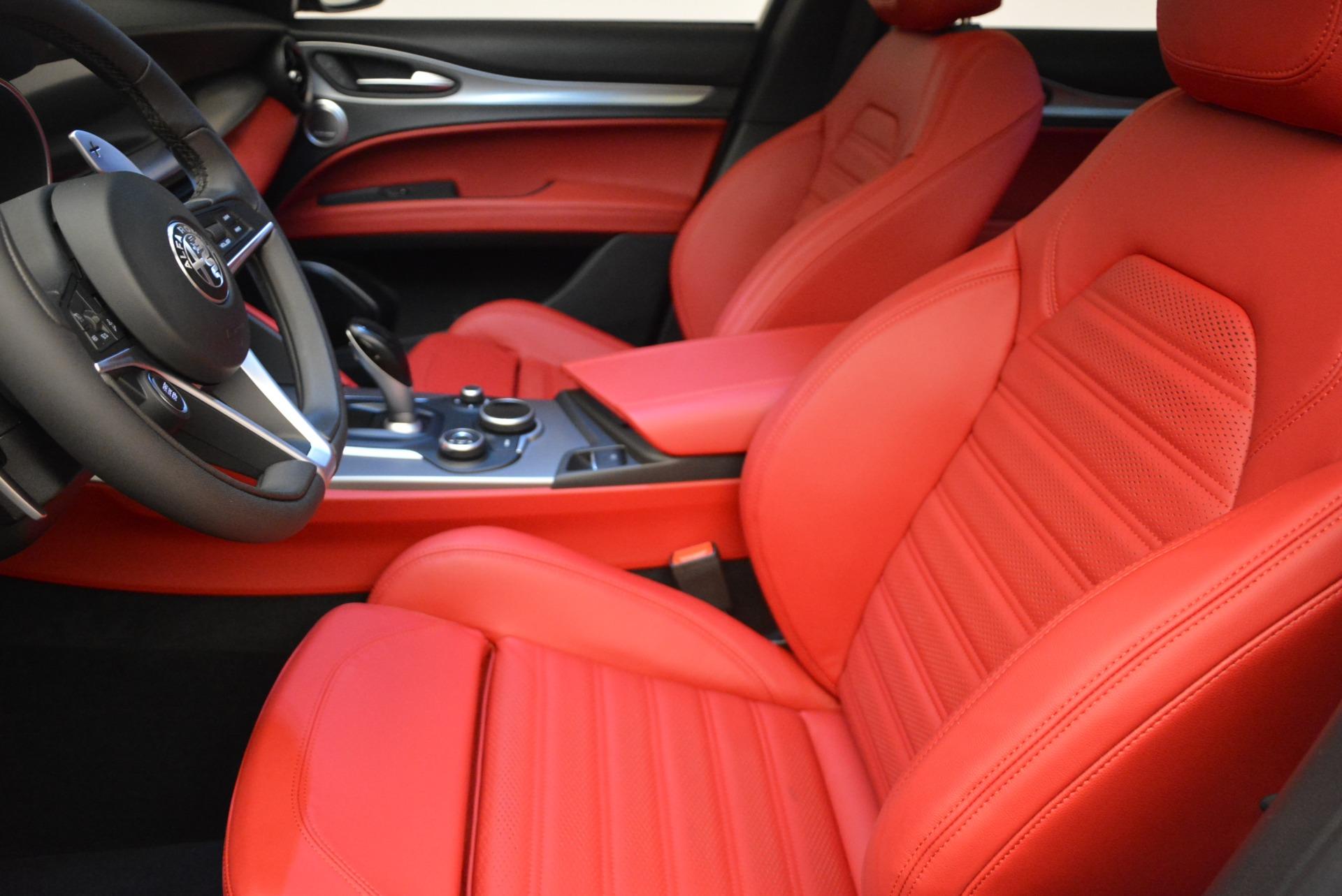 New 2018 Alfa Romeo Stelvio Ti Sport Q4 For Sale In Westport, CT 2008_p14