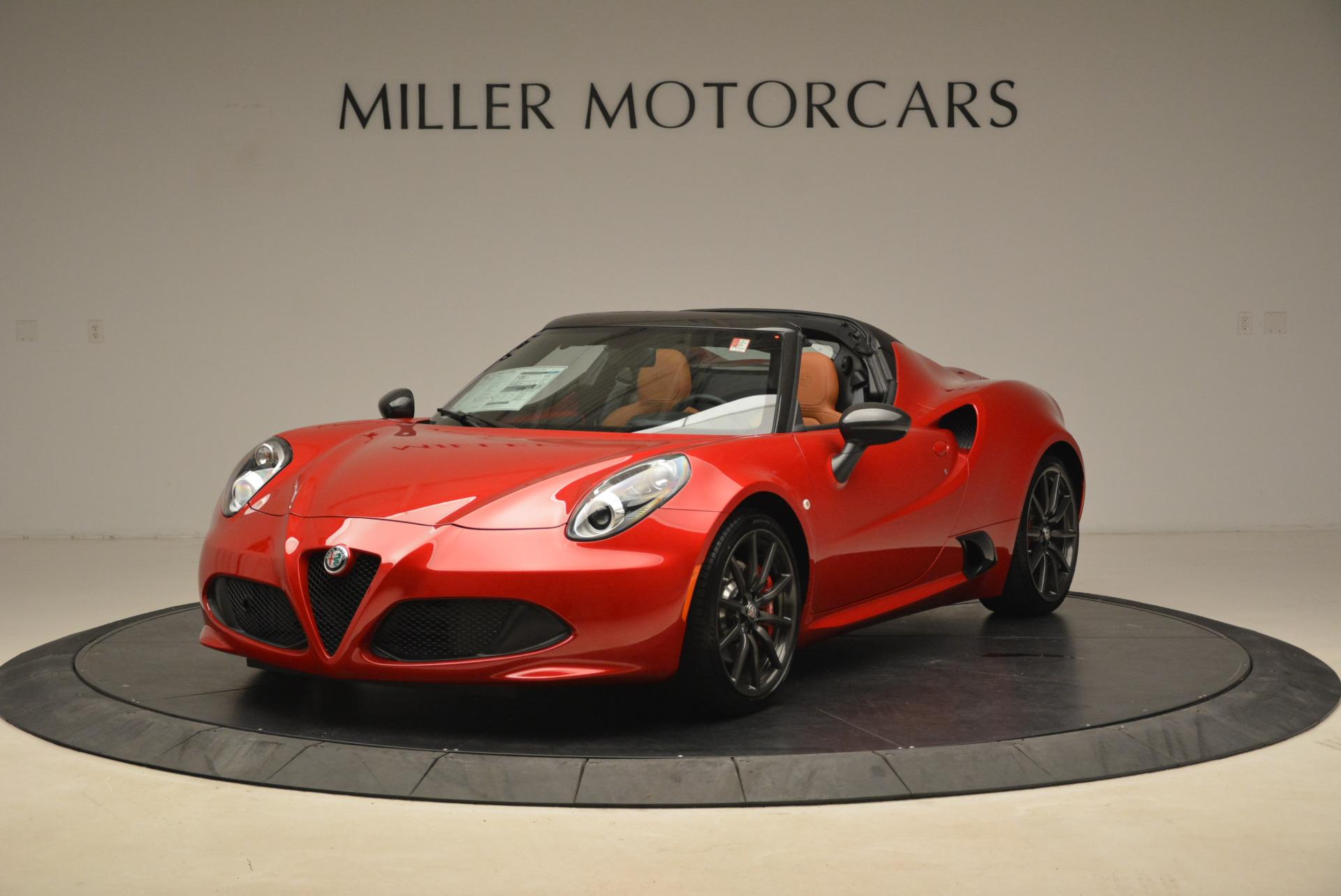 New 2018 Alfa Romeo 4C Spider For Sale In Westport, CT 2010_main