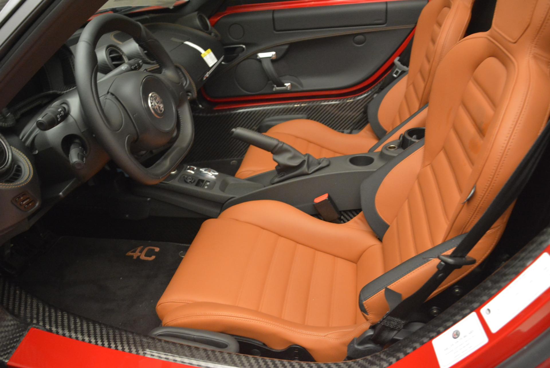 New 2018 Alfa Romeo 4C Spider For Sale In Westport, CT 2010_p19