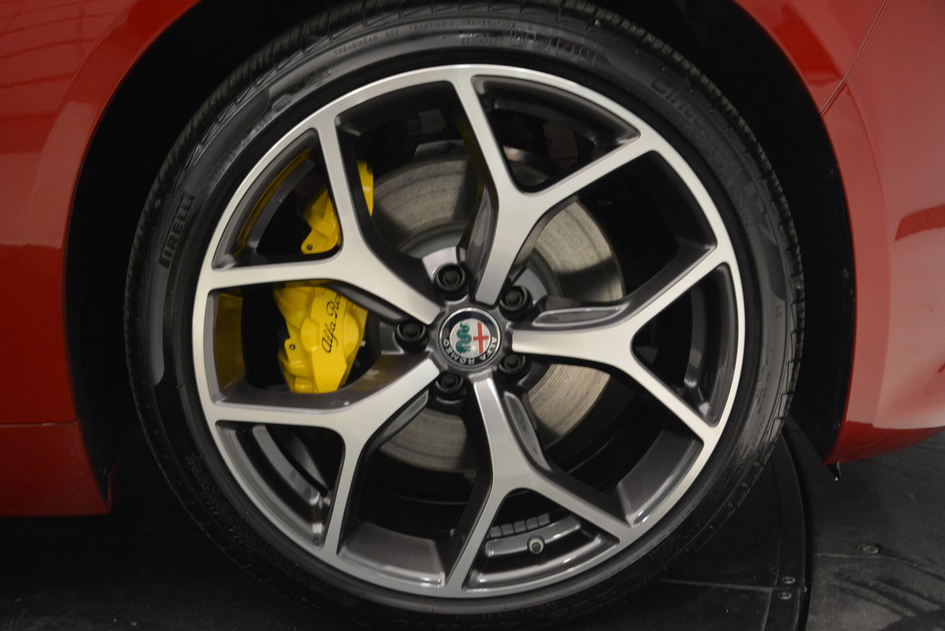 New 2018 Alfa Romeo Giulia Ti Sport Q4 For Sale In Westport, CT 2016_p25