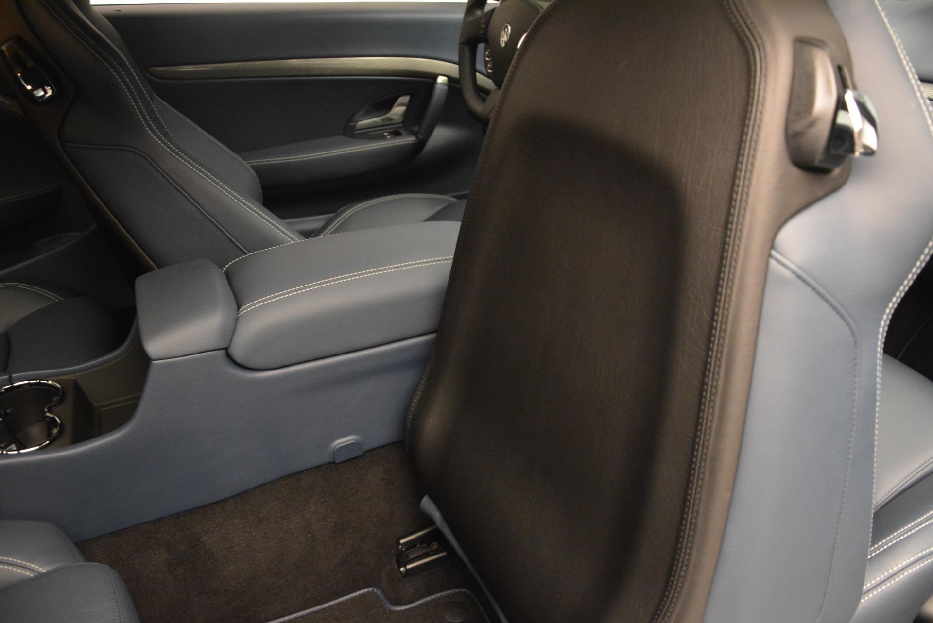 Used 2016 Maserati GranTurismo Sport For Sale In Westport, CT 2021_p23