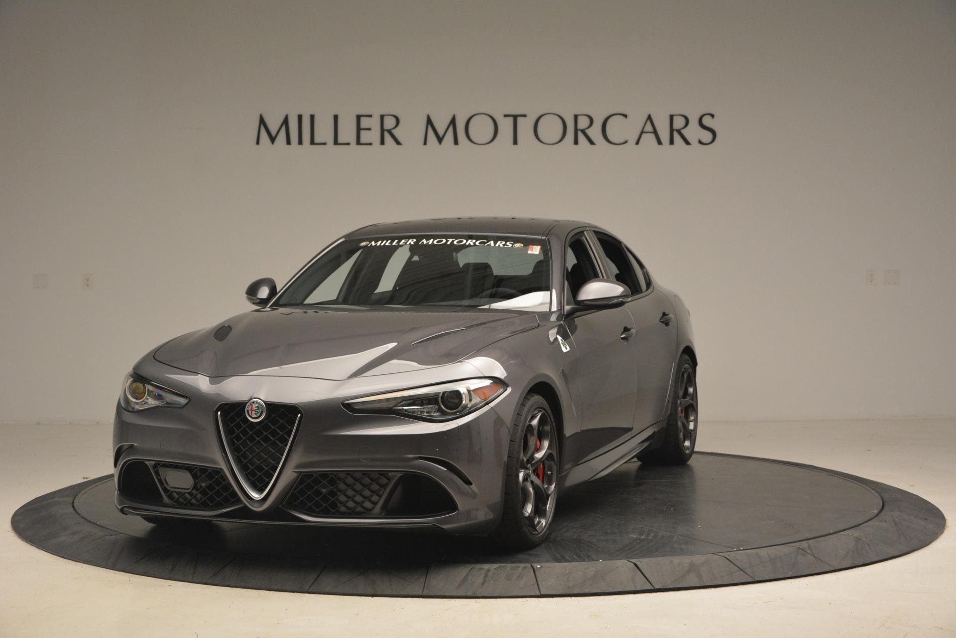 New 2018 Alfa Romeo Giulia Quadrifoglio For Sale In Westport, CT 2024_main