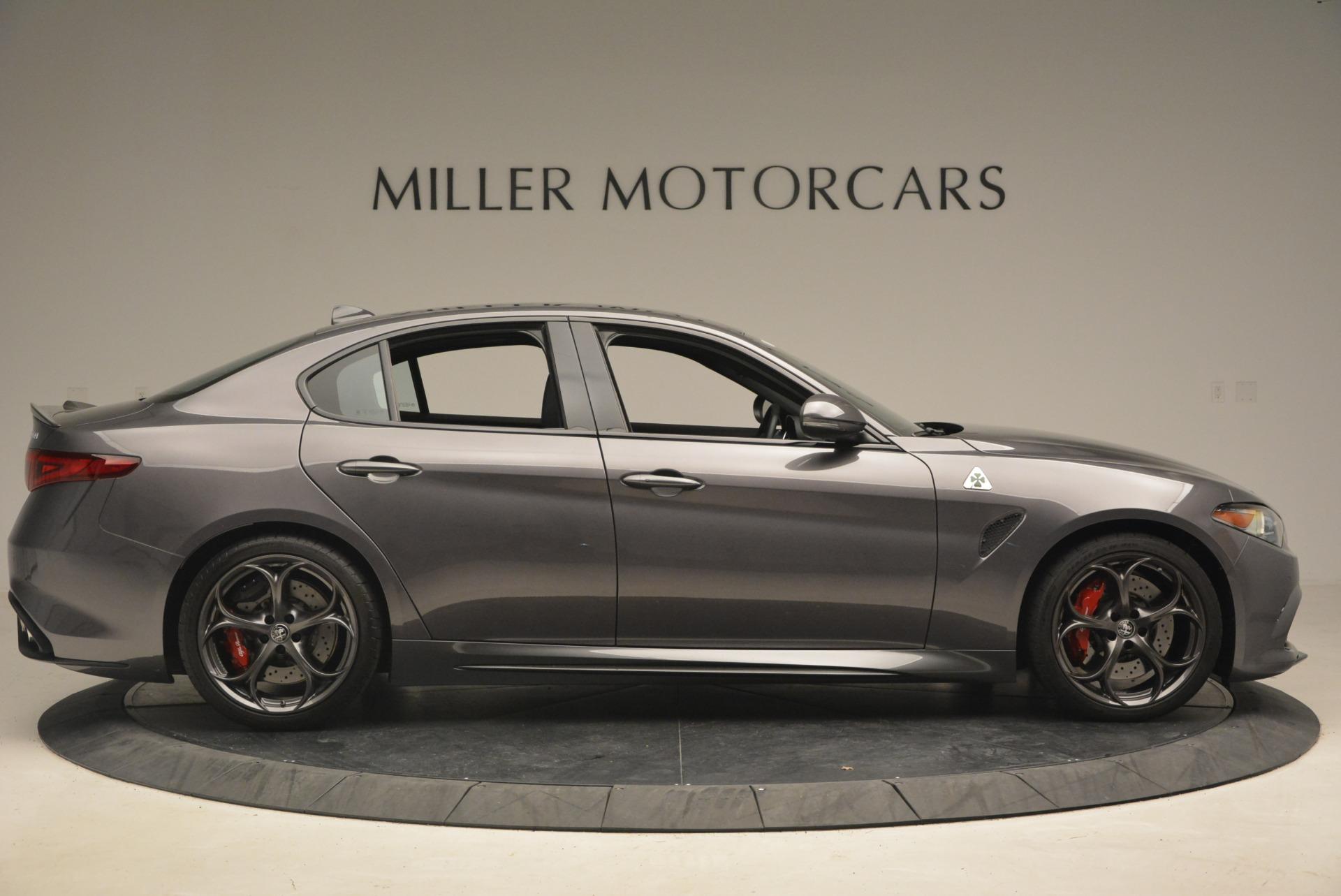 New 2018 Alfa Romeo Giulia Quadrifoglio For Sale In Westport, CT 2024_p9