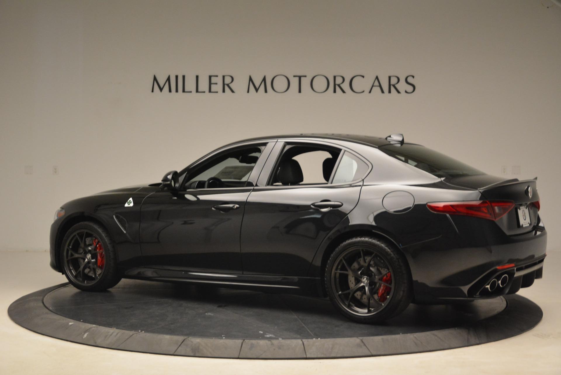 New 2018 Alfa Romeo Giulia Quadrifoglio For Sale In Westport, CT 2025_p4