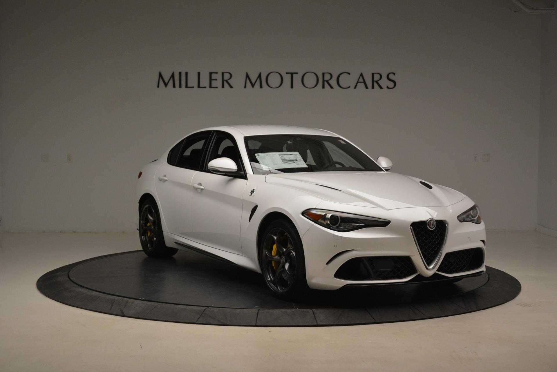 New 2018 Alfa Romeo Giulia Quadrifoglio For Sale In Westport, CT 2031_p11