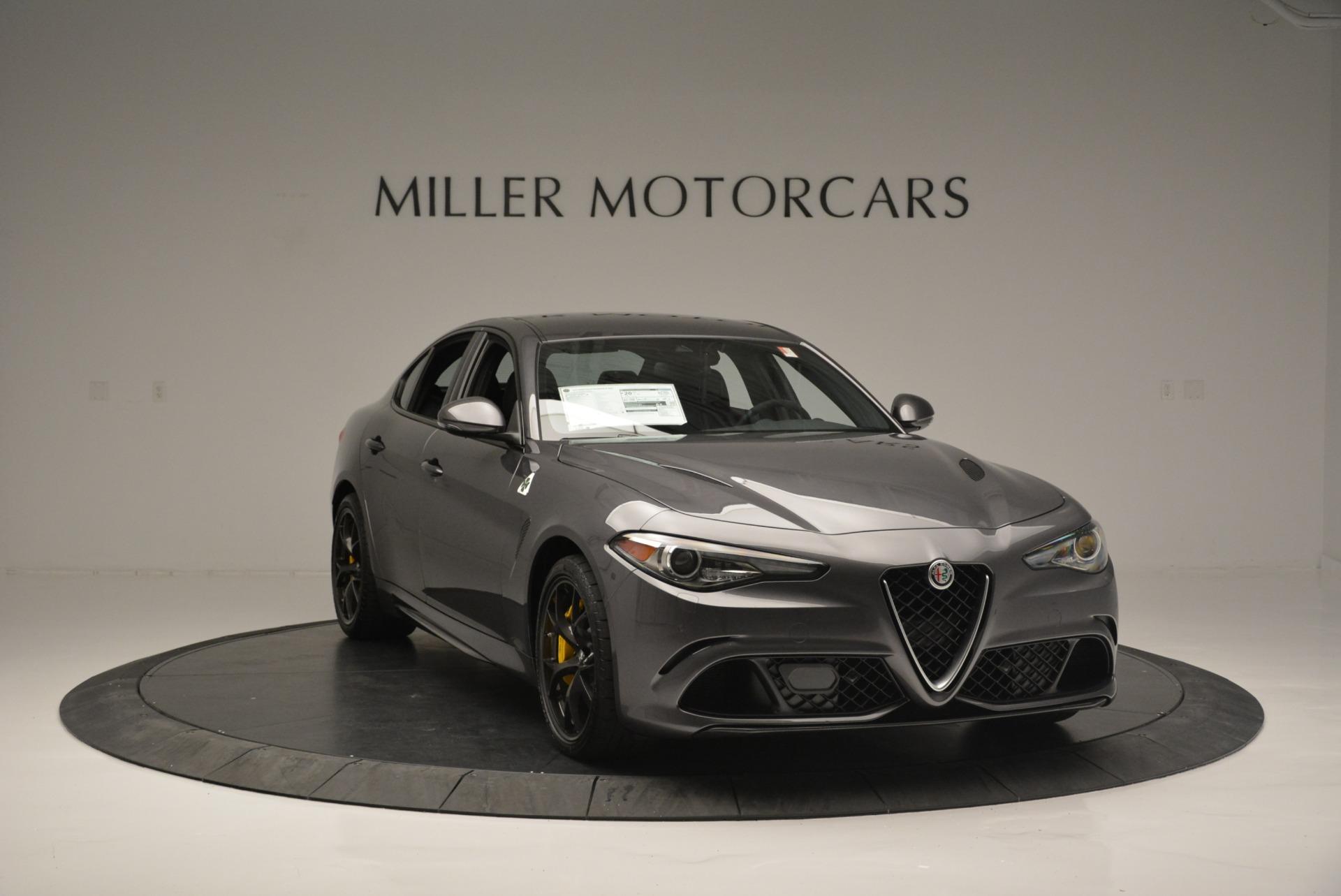 New 2018 Alfa Romeo Giulia Quadrifoglio For Sale In Westport, CT 2032_p11