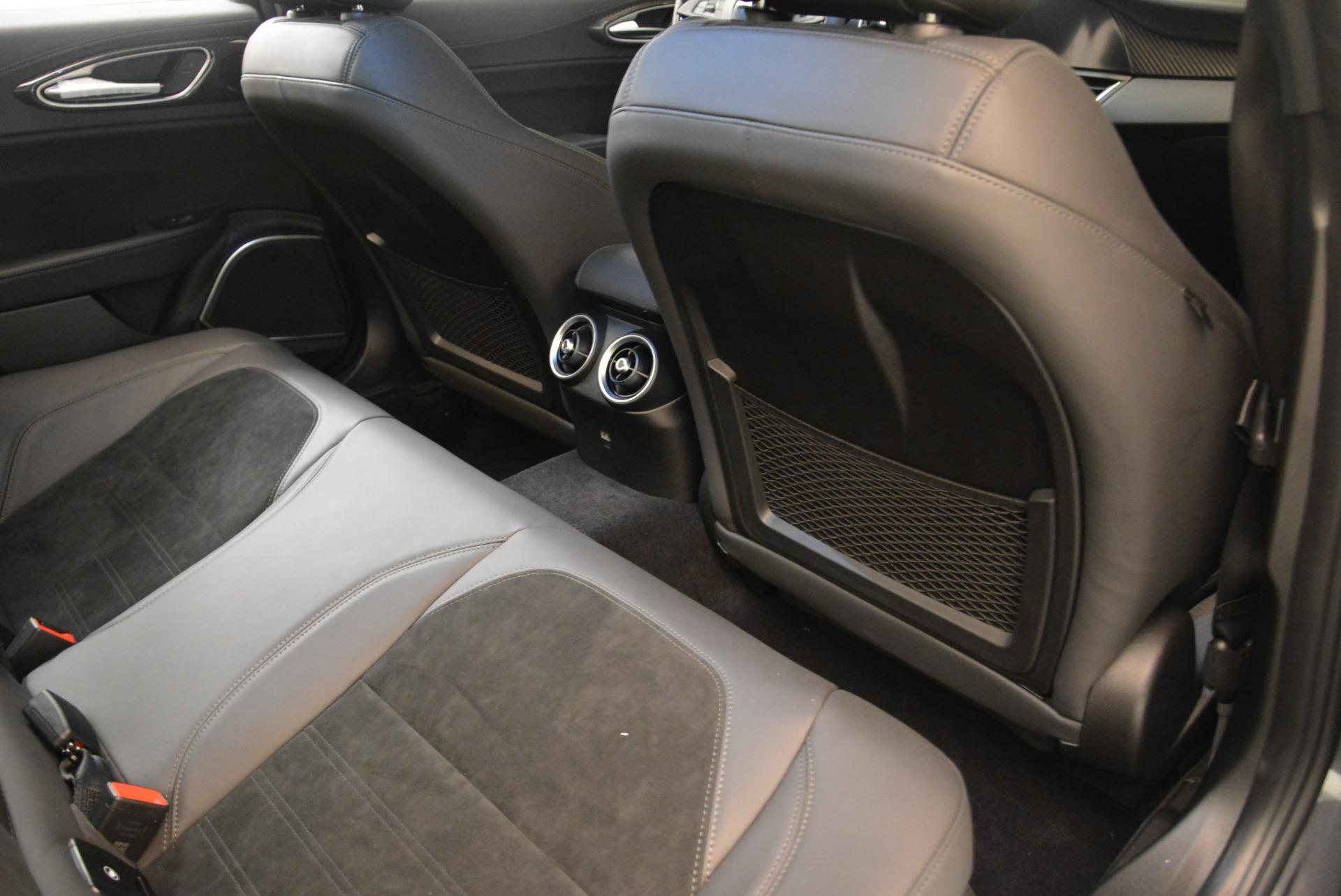 New 2018 Alfa Romeo Giulia Quadrifoglio For Sale In Westport, CT 2032_p22