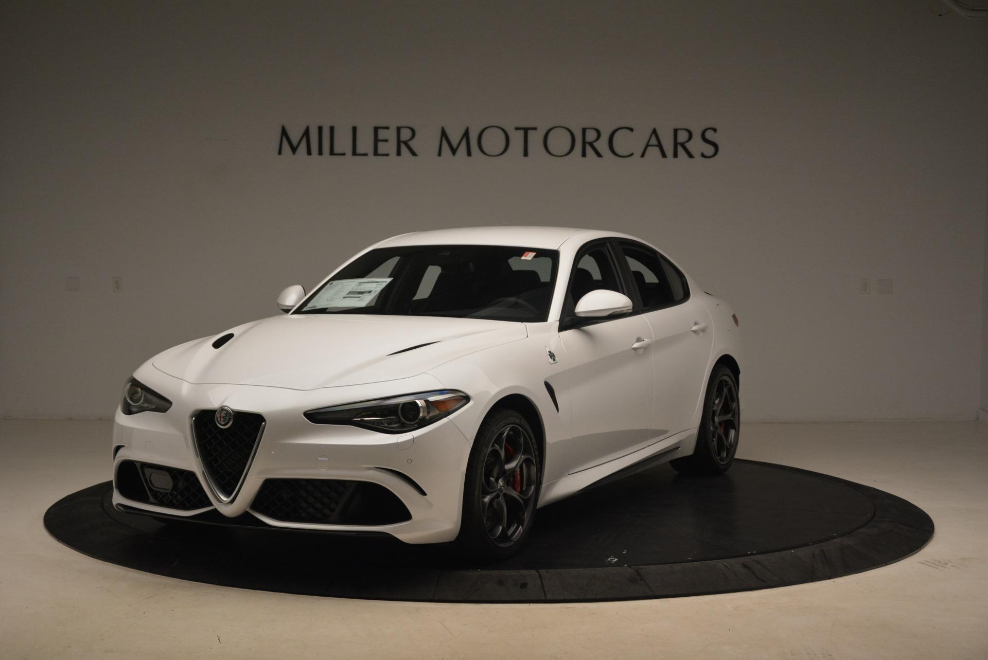 New 2018 Alfa Romeo Giulia Quadrifoglio For Sale In Westport, CT 2035_main