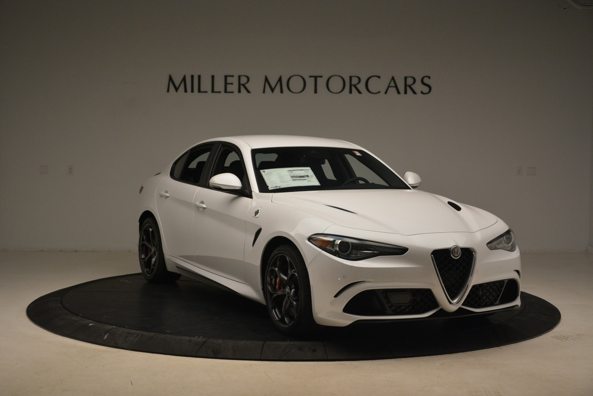 New 2018 Alfa Romeo Giulia Quadrifoglio For Sale In Westport, CT 2035_p11