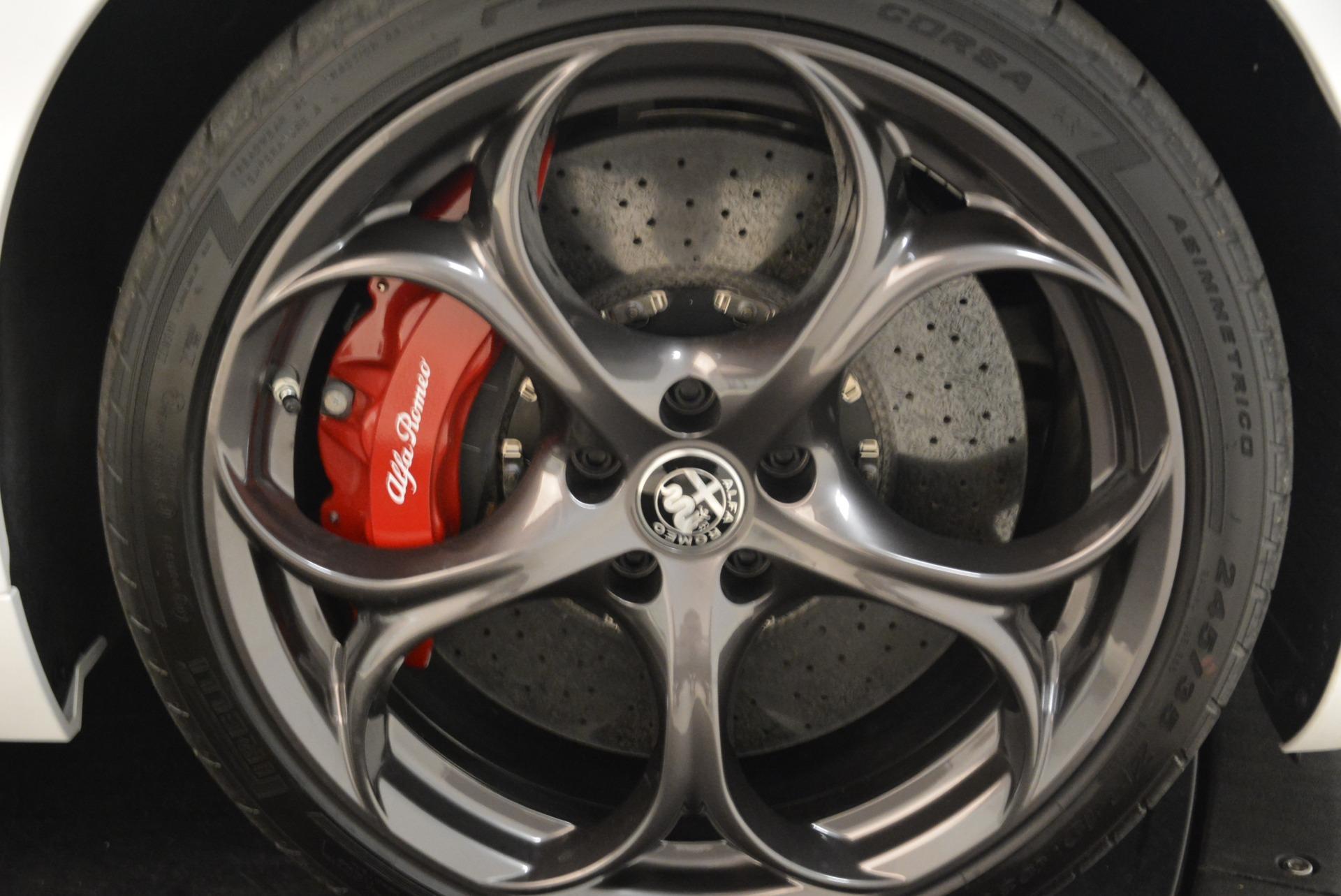 New 2018 Alfa Romeo Giulia Quadrifoglio For Sale In Westport, CT 2035_p25