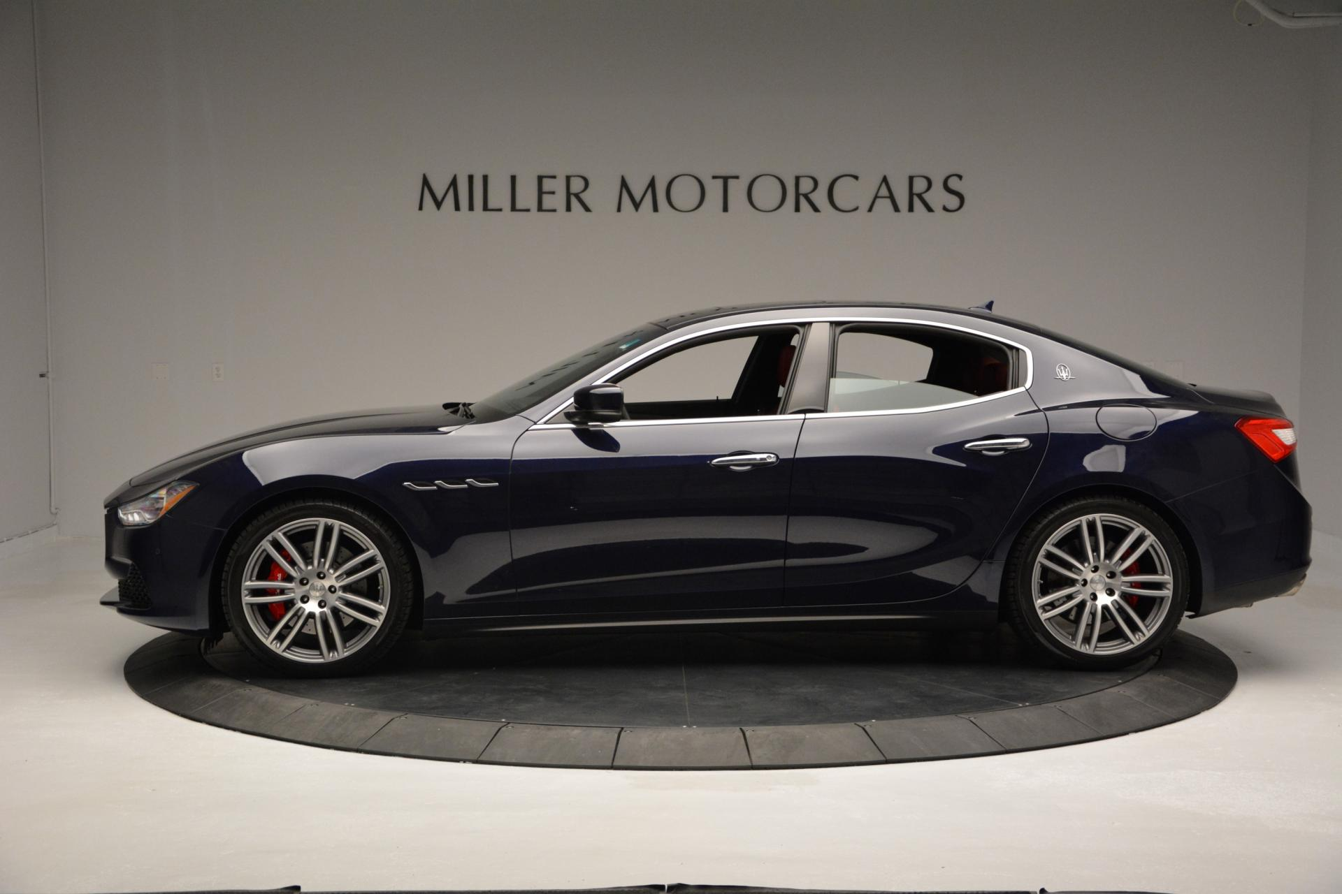 New 2016 Maserati Ghibli S Q4 For Sale In Westport, CT 204_p3