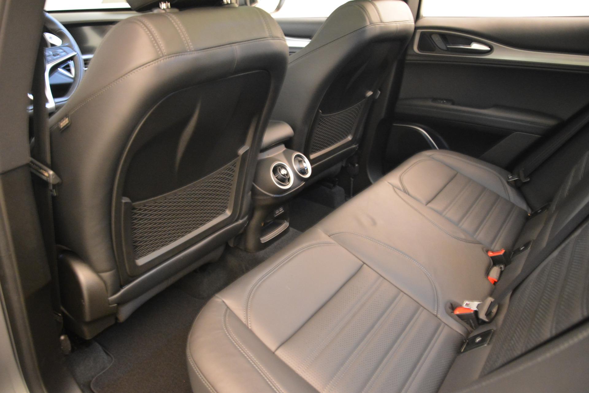 New 2018 Alfa Romeo Stelvio Ti Sport Q4 For Sale In Westport, CT 2040_p16
