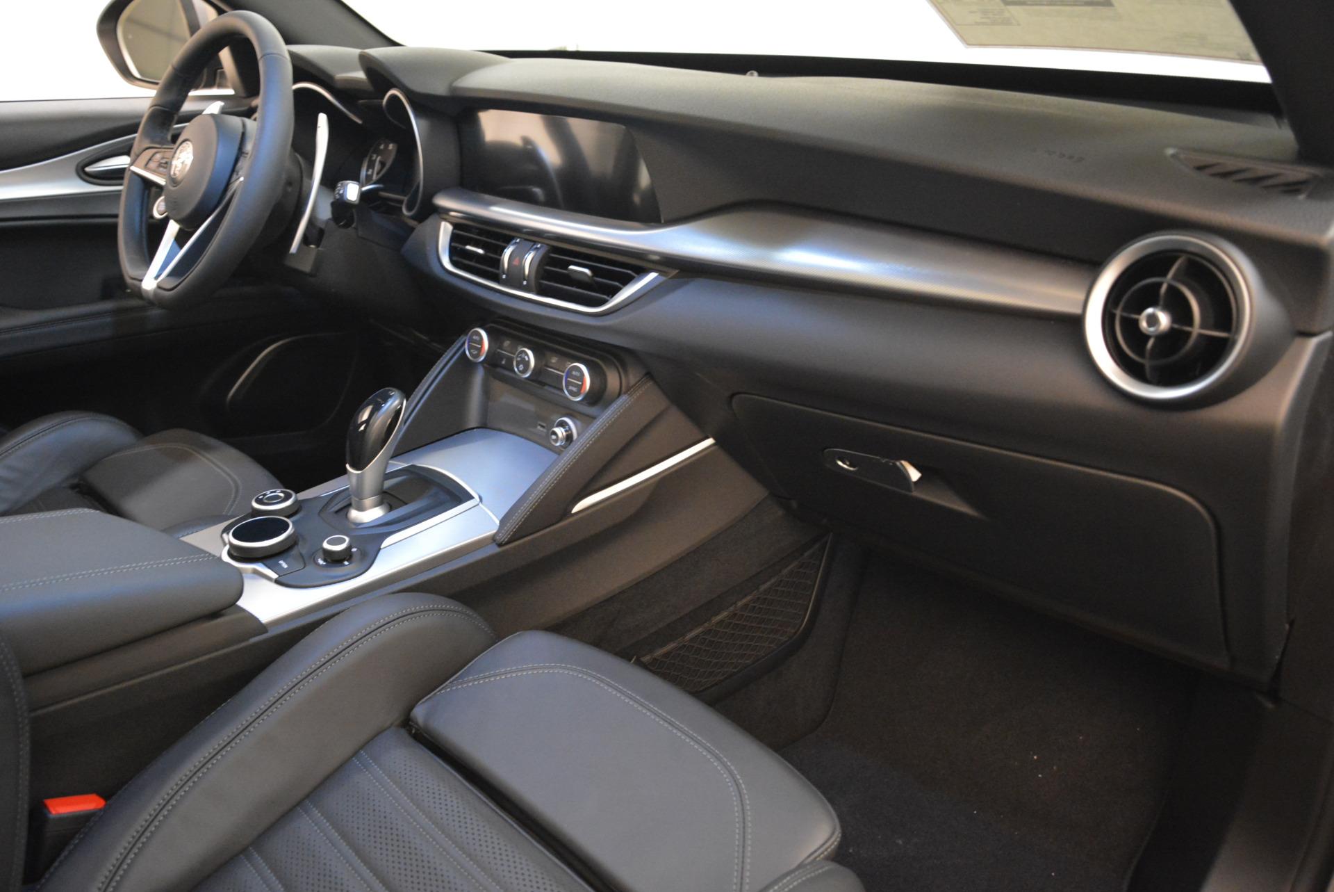New 2018 Alfa Romeo Stelvio Ti Sport Q4 For Sale In Westport, CT 2040_p19