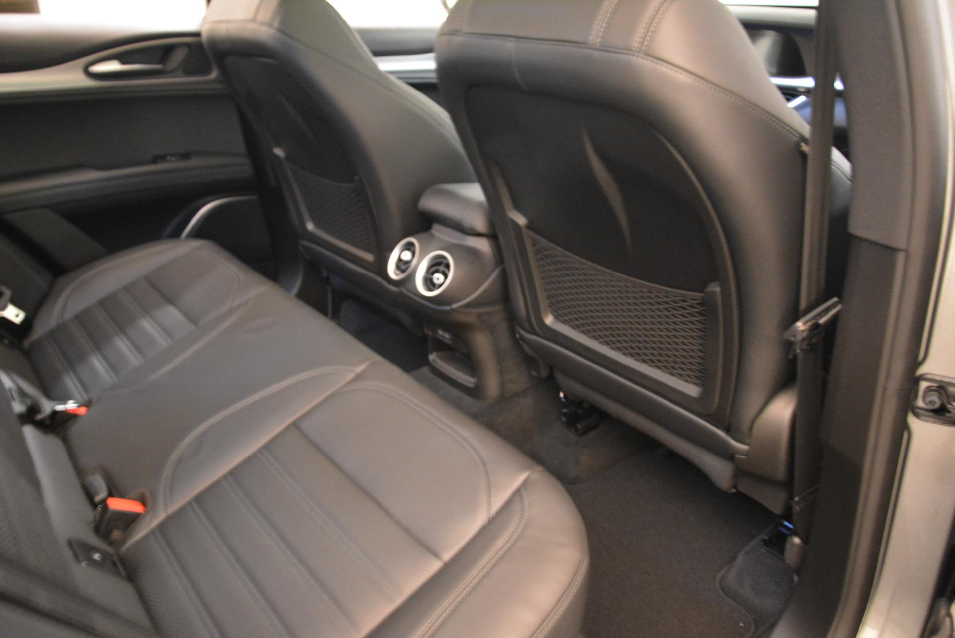 New 2018 Alfa Romeo Stelvio Ti Sport Q4 For Sale In Westport, CT 2040_p22