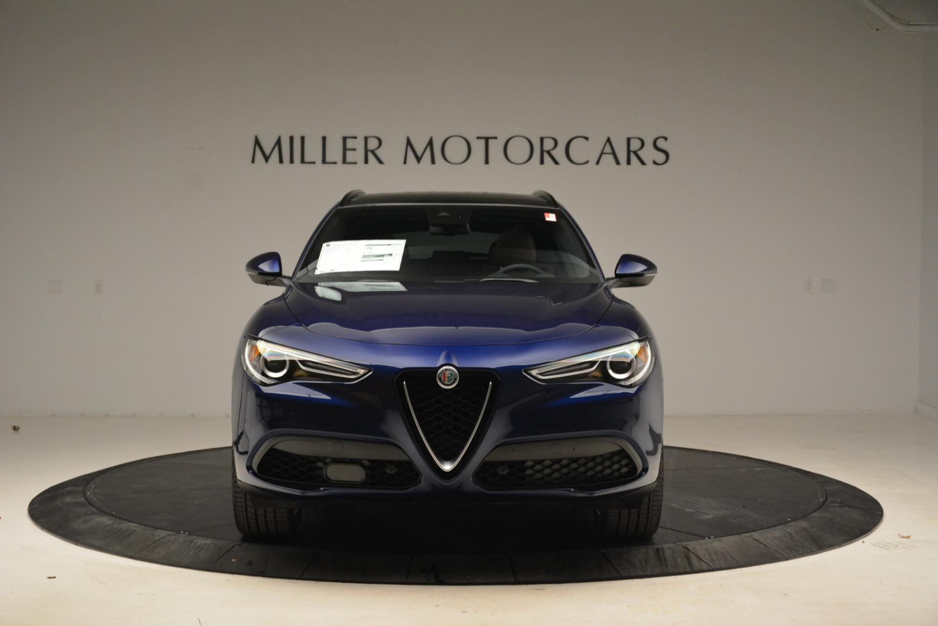 New 2018 Alfa Romeo Stelvio Ti Sport Q4 For Sale In Westport, CT 2042_p12