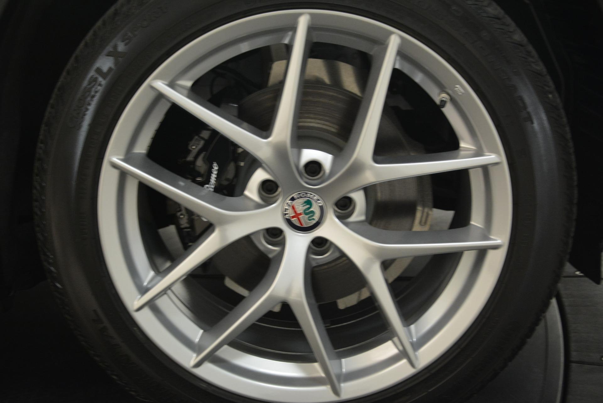 New 2018 Alfa Romeo Stelvio Ti Sport Q4 For Sale In Westport, CT 2044_p25