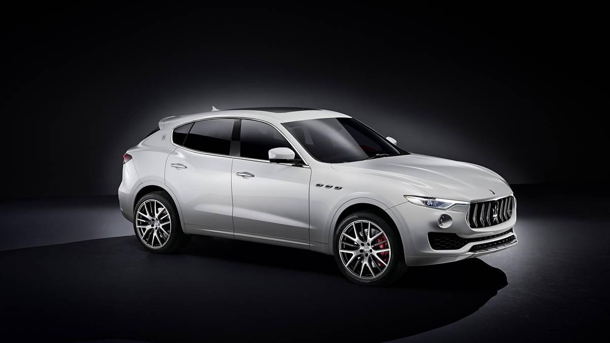 New 2017 Maserati Levante  For Sale In Westport, CT 205_p3