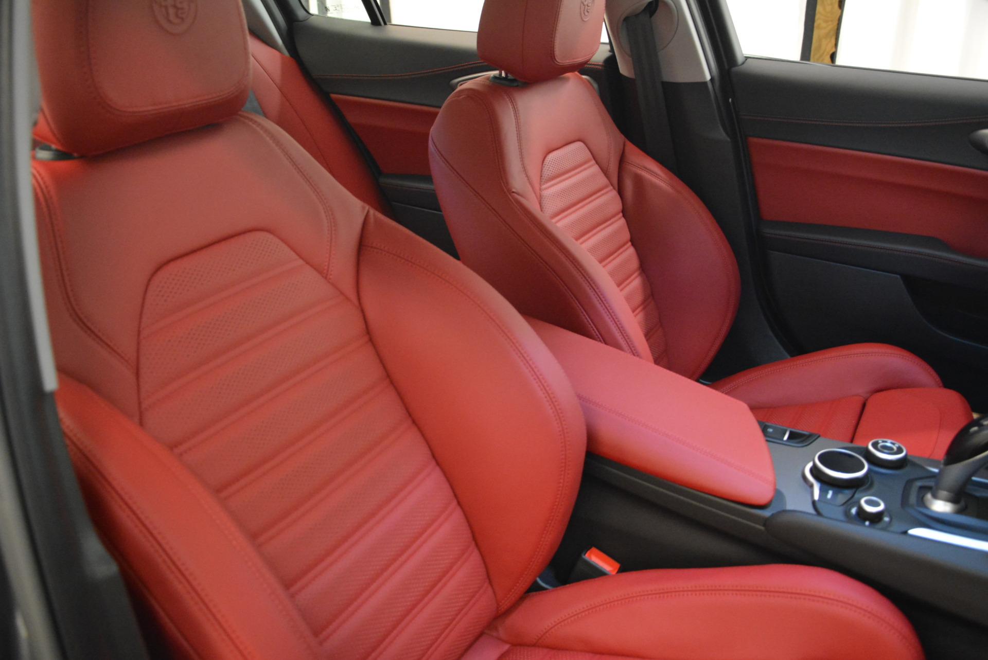 New 2018 Alfa Romeo Giulia Ti Sport Q4 For Sale In Westport, CT 2060_p21