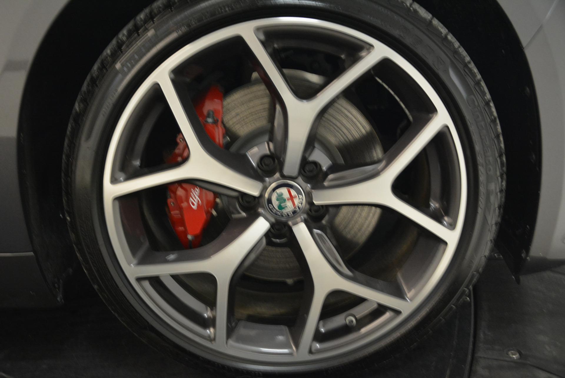New 2018 Alfa Romeo Giulia Ti Sport Q4 For Sale In Westport, CT 2060_p25