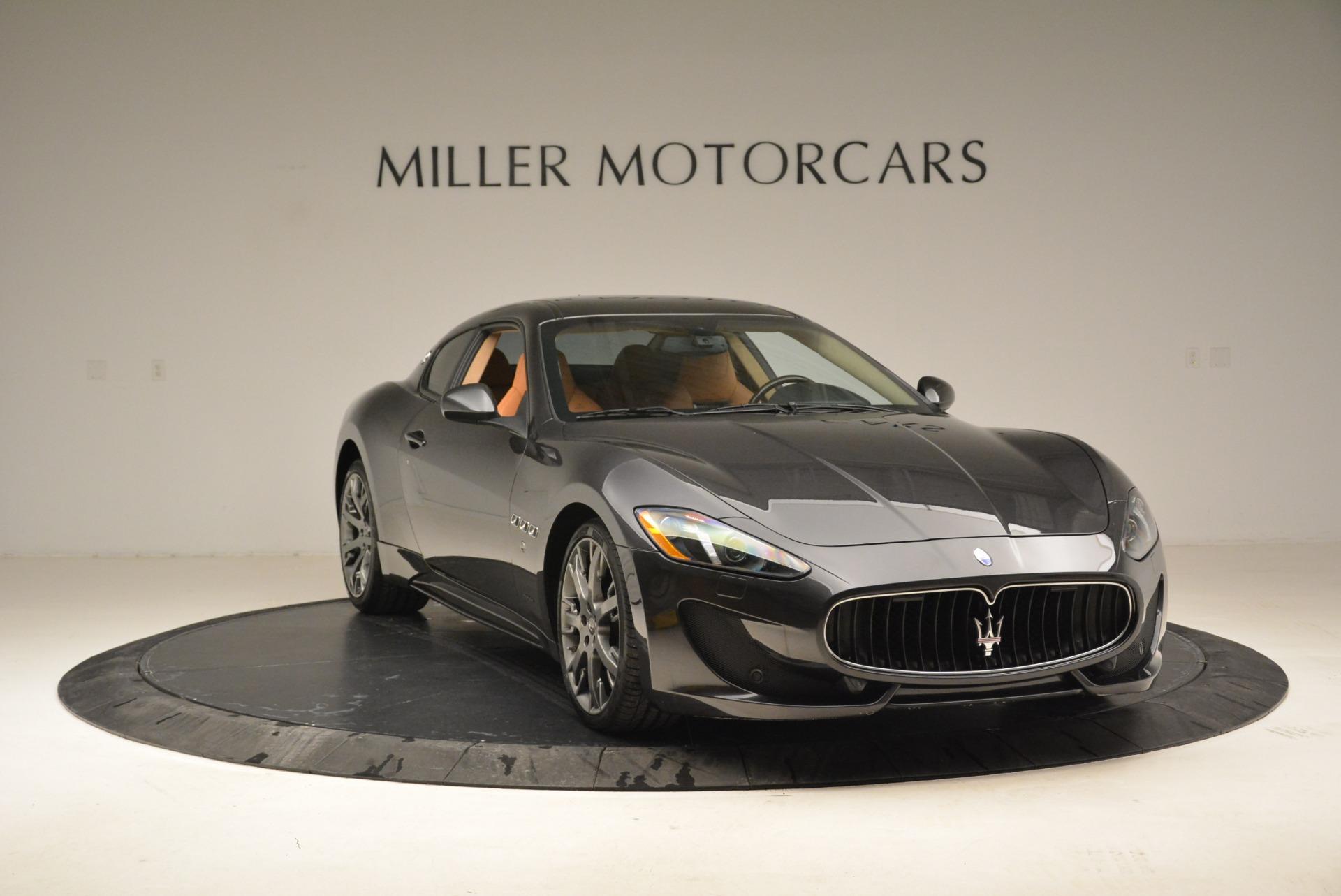 Used 2014 Maserati GranTurismo Sport For Sale In Westport, CT 2067_p10