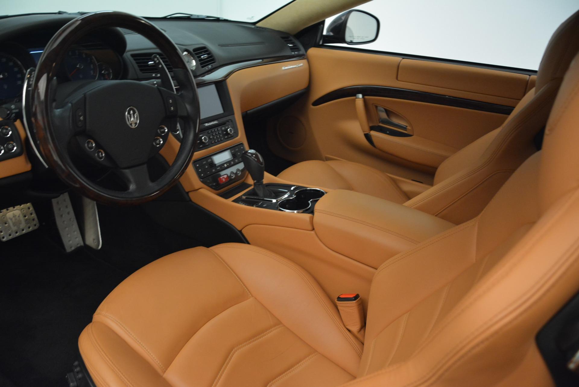 Used 2014 Maserati GranTurismo Sport For Sale In Westport, CT 2067_p13