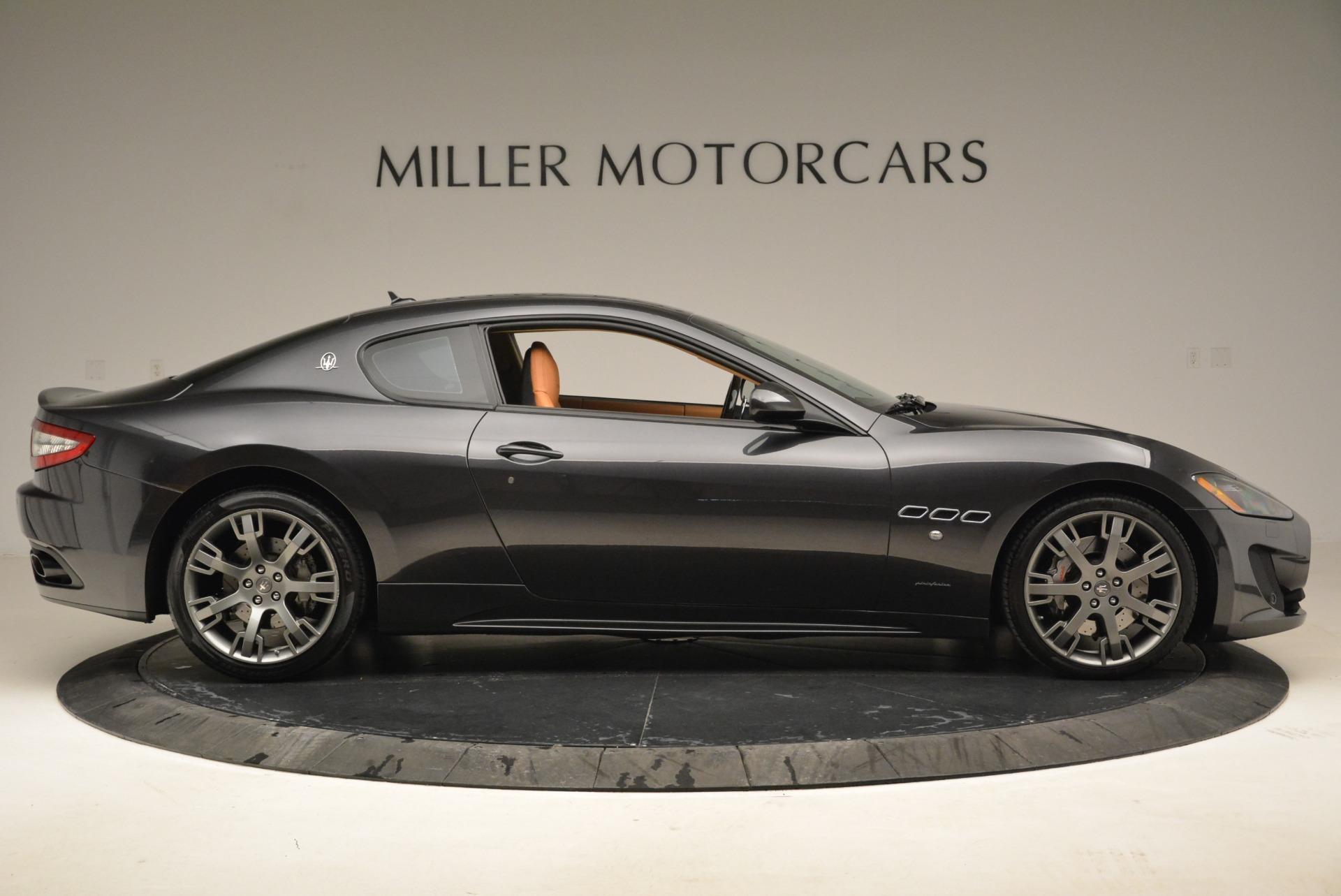 Used 2014 Maserati GranTurismo Sport For Sale In Westport, CT 2067_p8