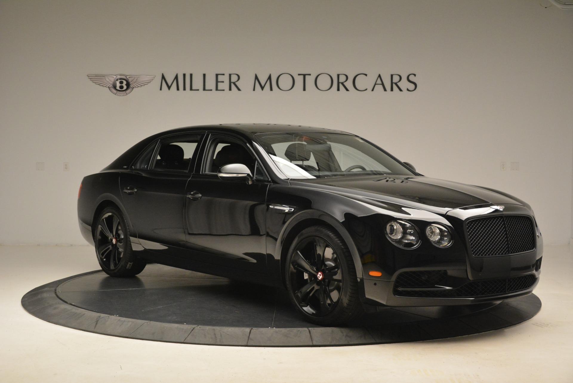 New 2018 Bentley Flying Spur V8 S Black Edition For Sale In Westport, CT 2073_p10