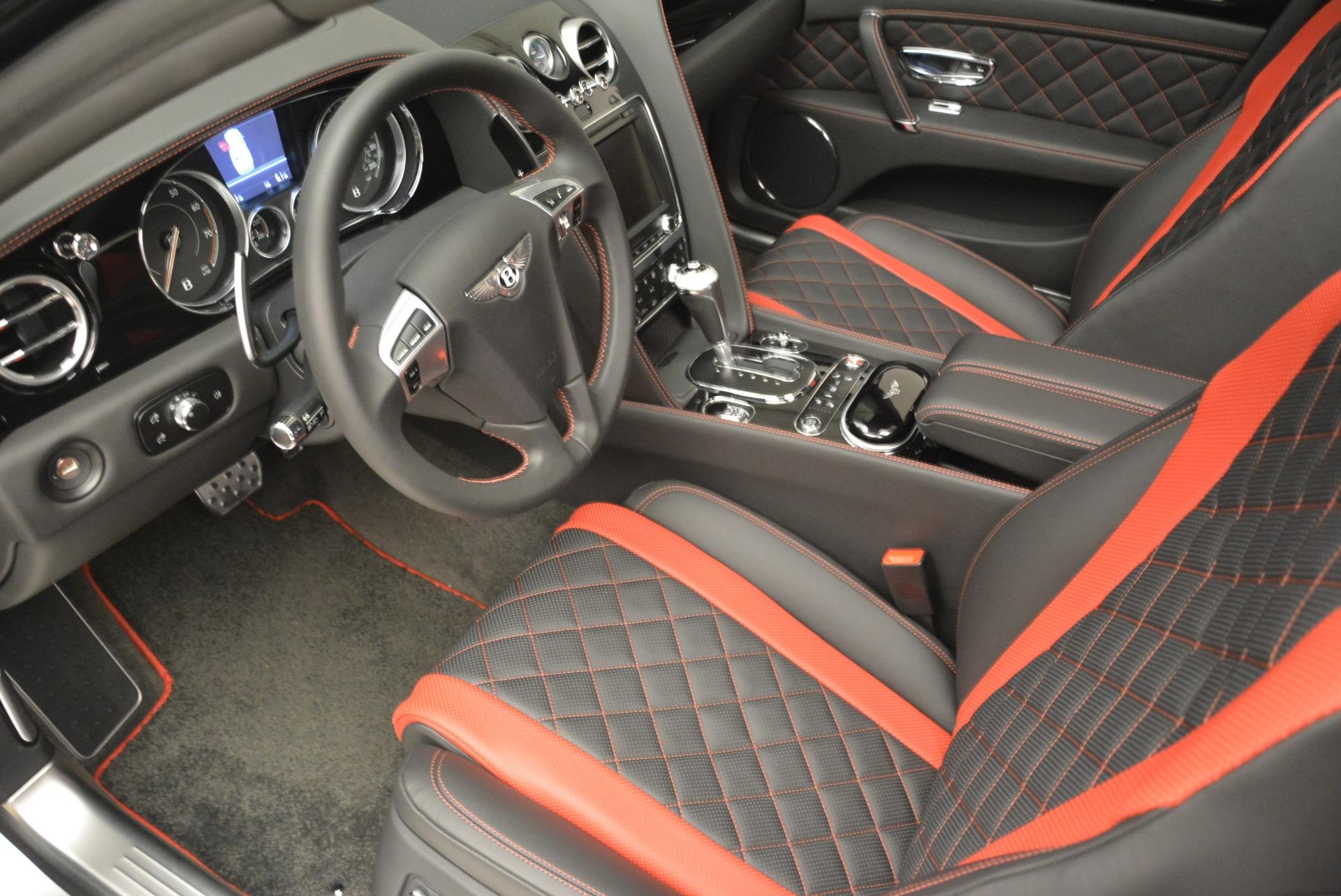 New 2018 Bentley Flying Spur V8 S Black Edition For Sale In Westport, CT 2073_p15