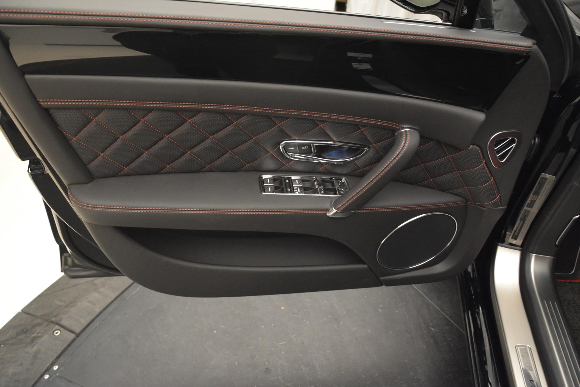 New 2018 Bentley Flying Spur V8 S Black Edition For Sale In Westport, CT 2073_p16